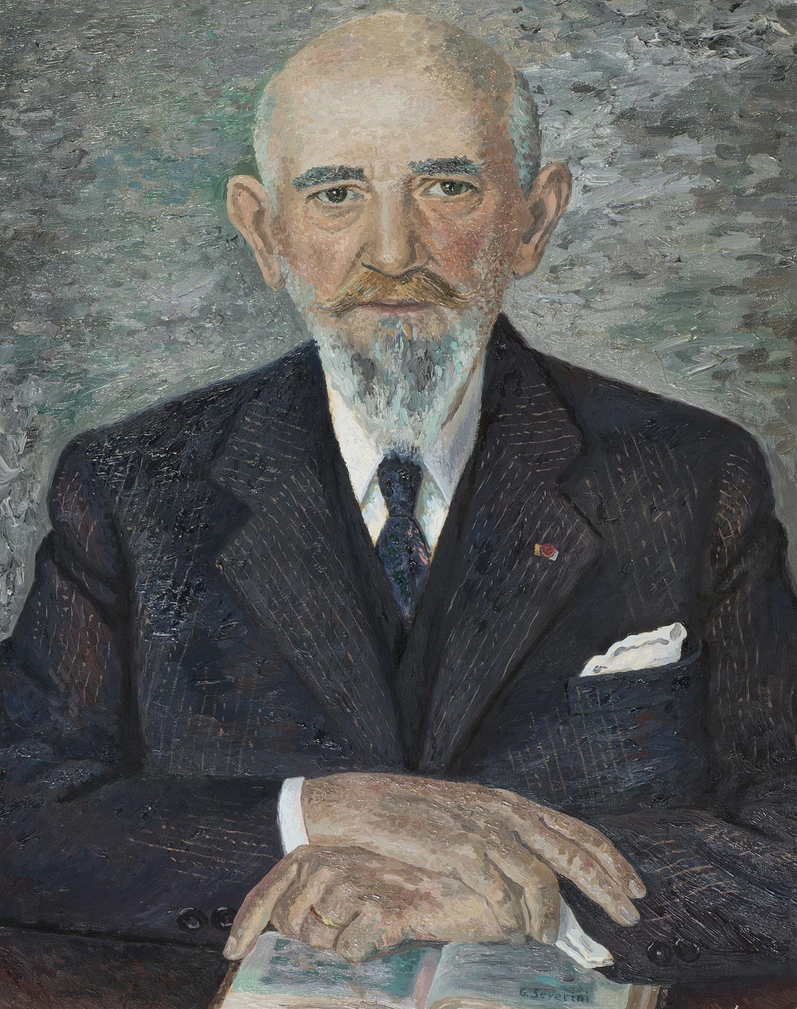 Ritratto di Monsieur Eugène Roux, 1936