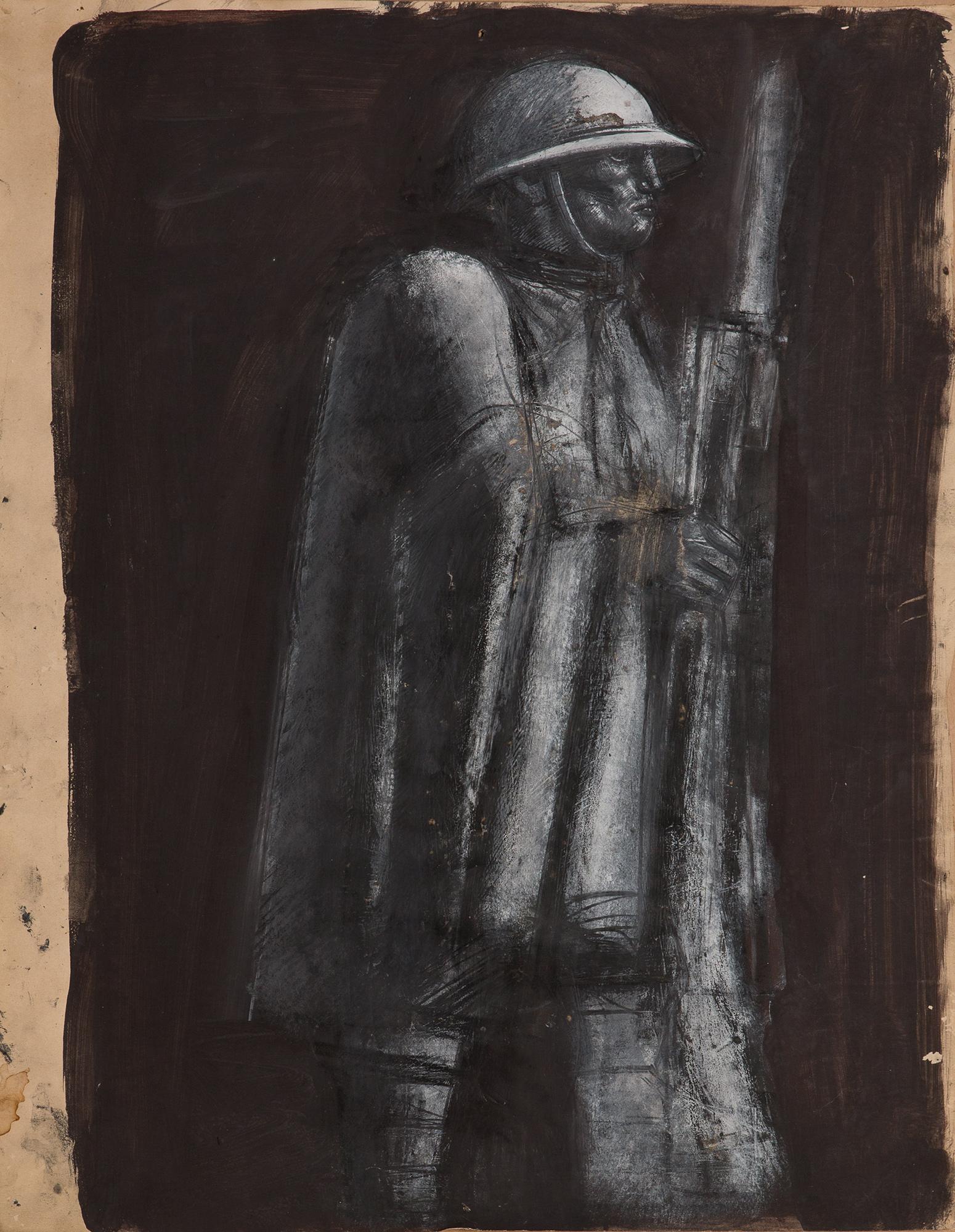 Figura di soldato, 1941 ca.