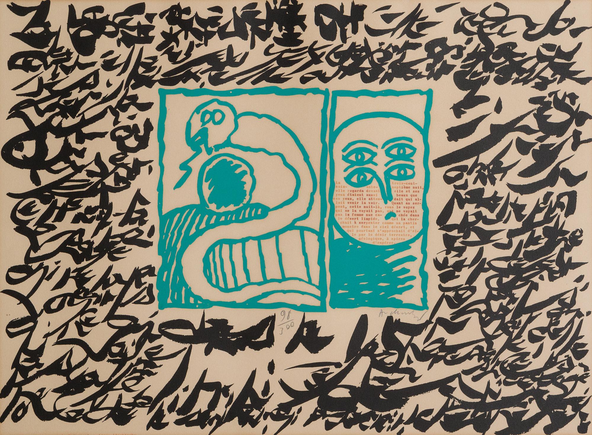 Linolog II, 1972