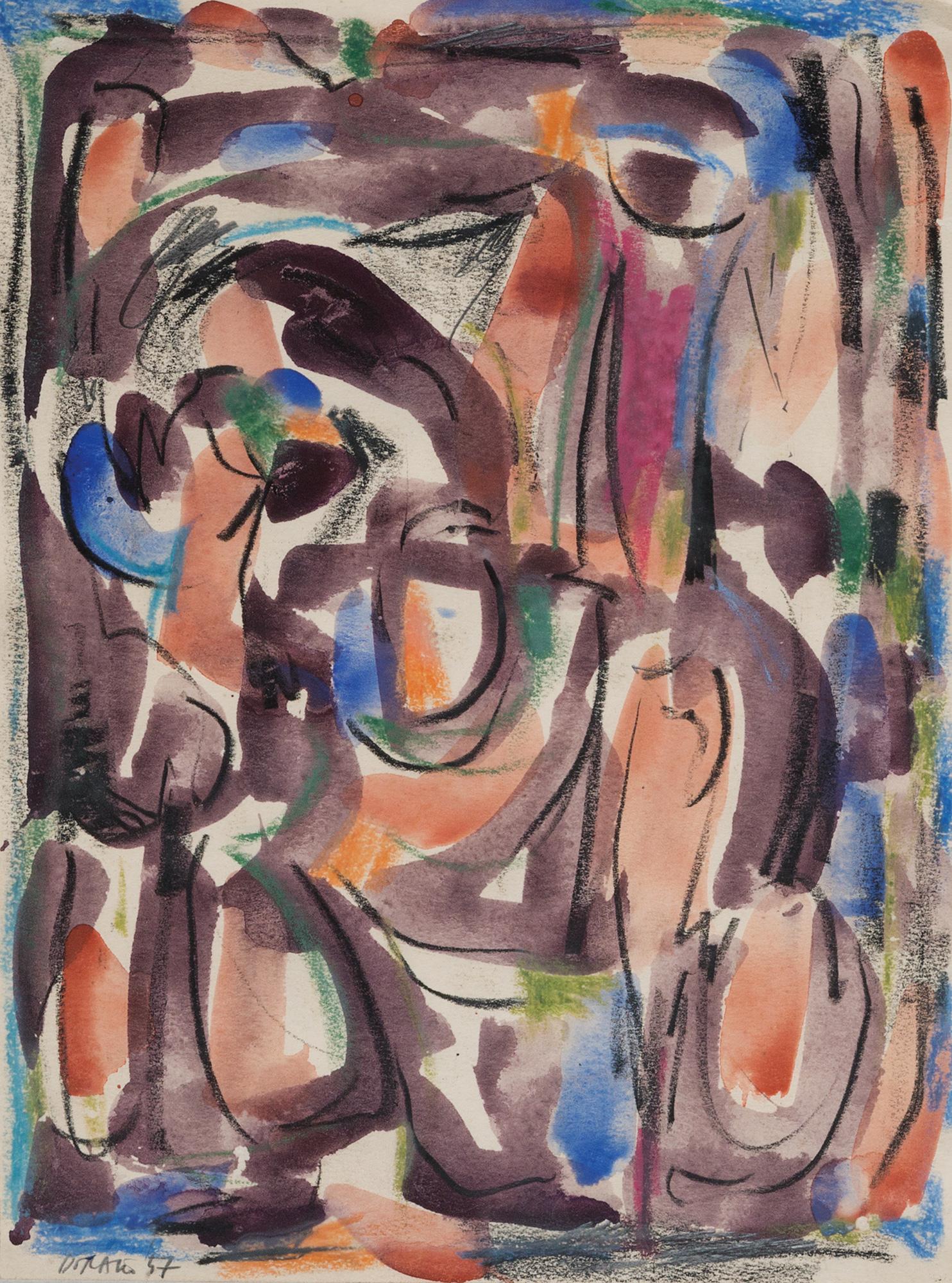 Composizione, 1957