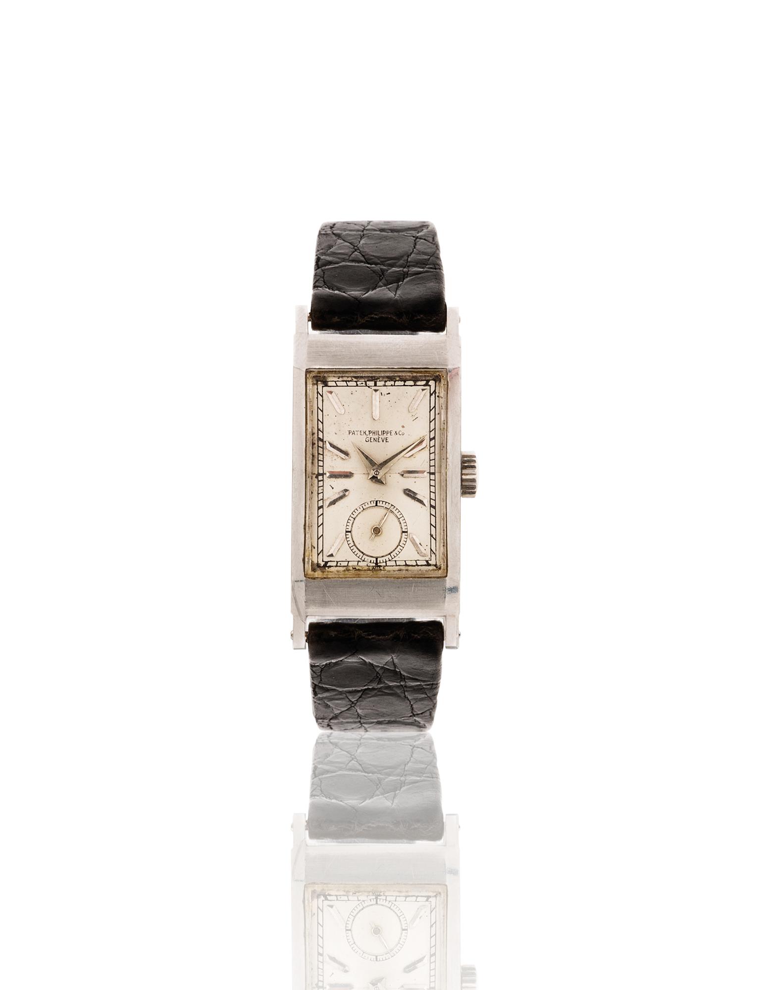taglia 40 a0d33 4f55e orologio di forma, cassa in platino serie num. 219450