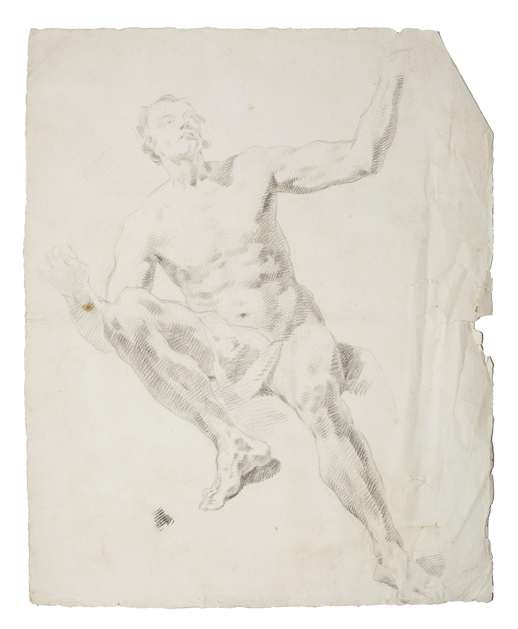 Studio di nudo virile a figura intera