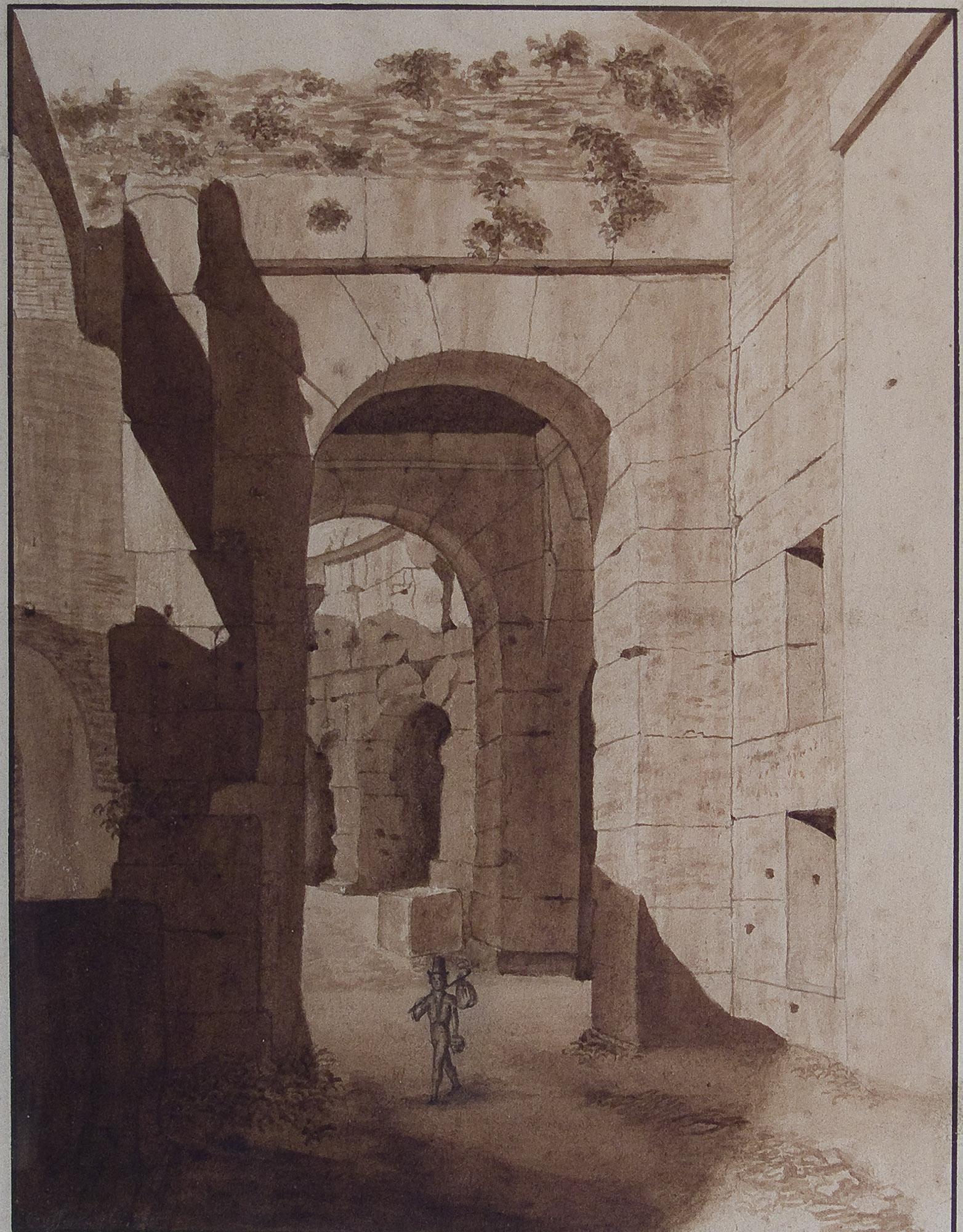 Veduta interna del Colosseo