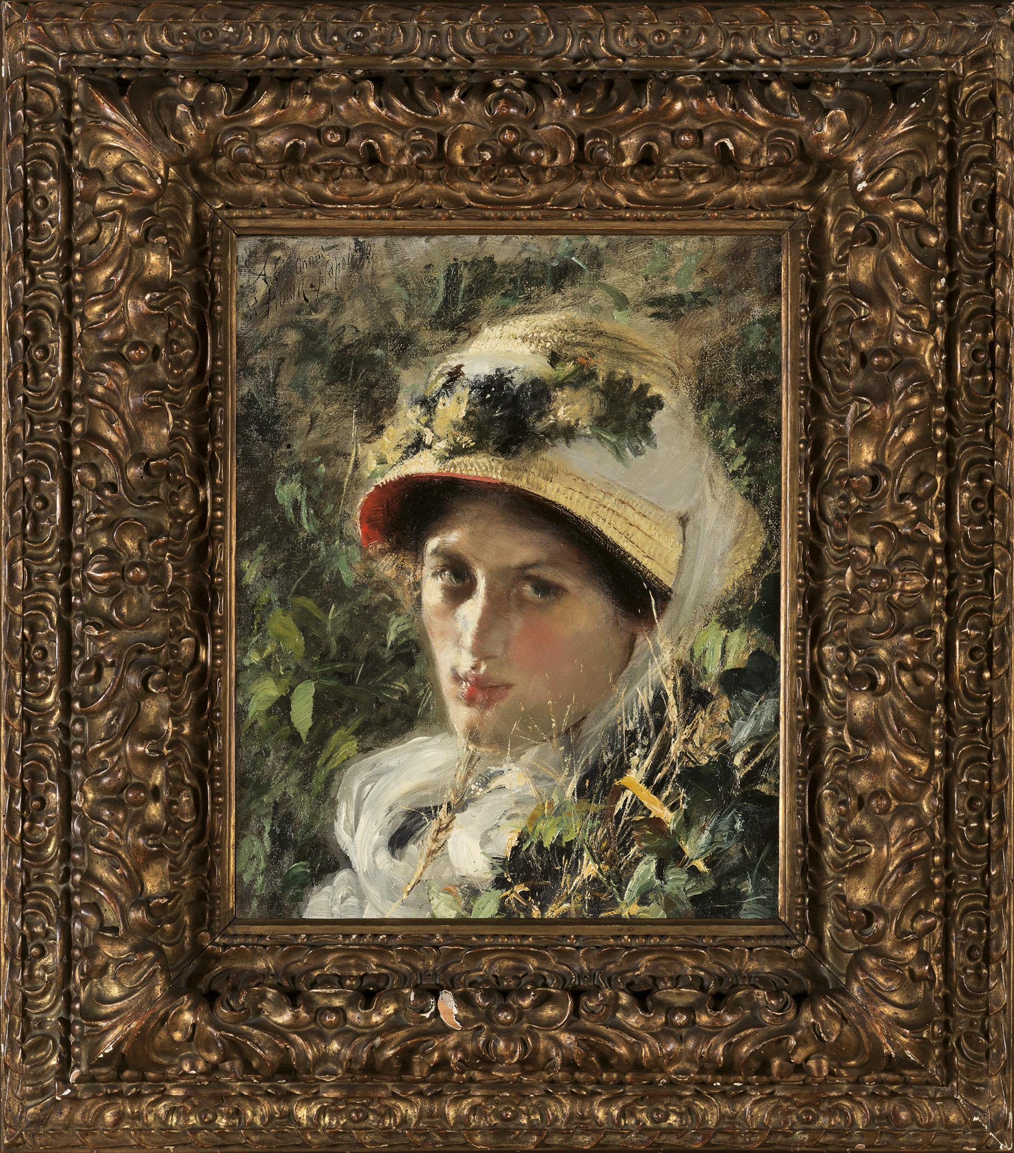 Il cappello di paglia, 1880