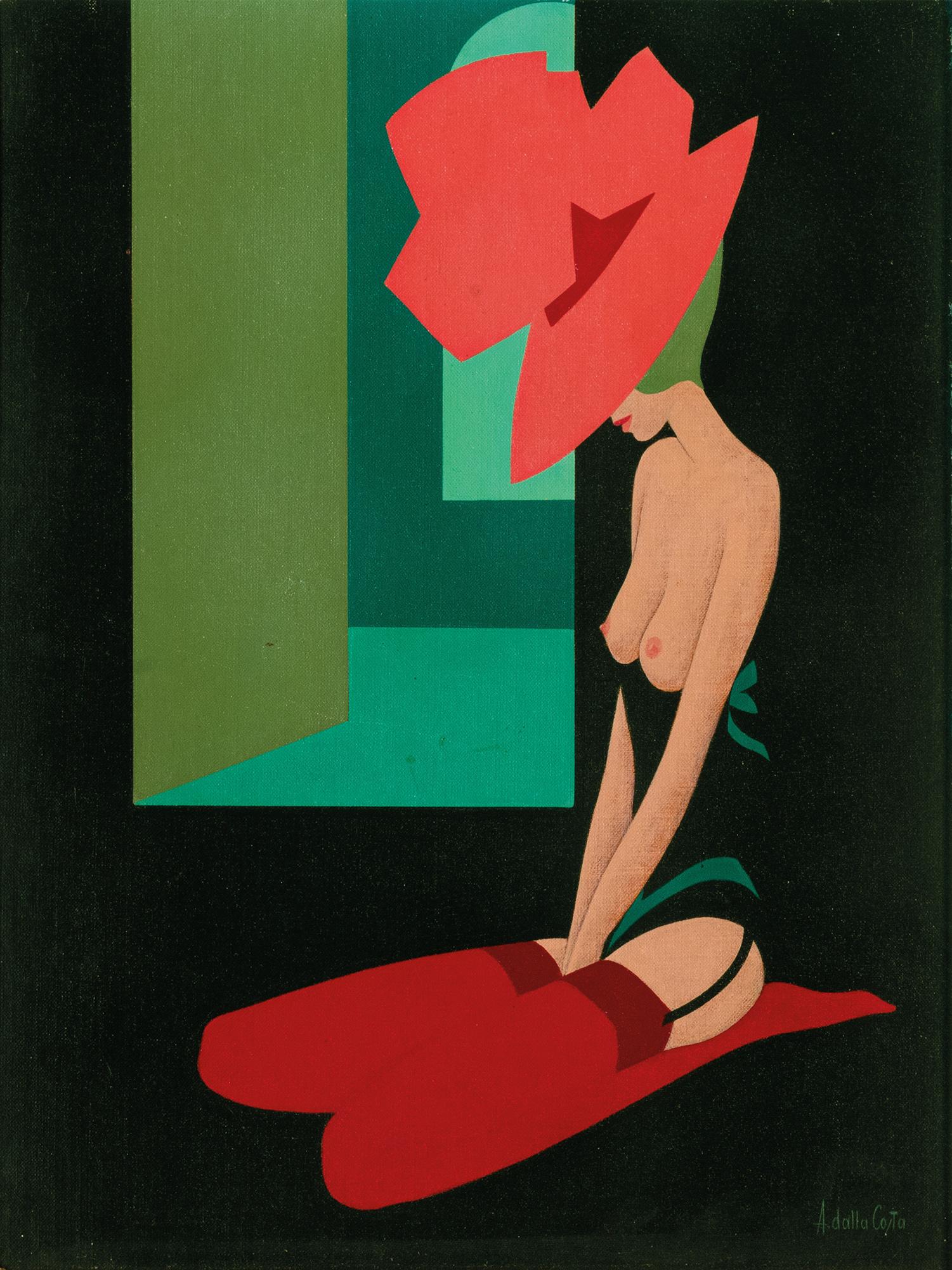 Il cappello rosa, 1980