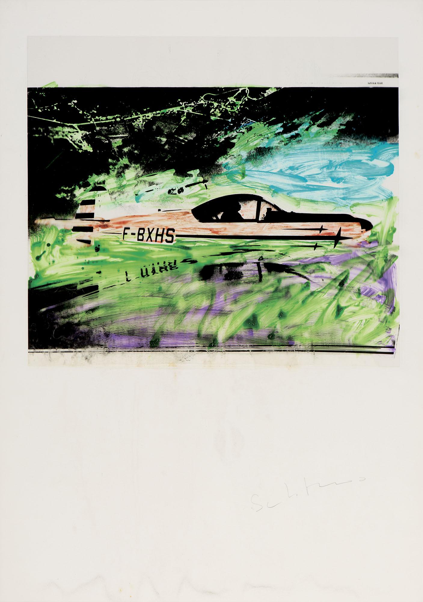 Senza titolo – Automobile, 1977/'79