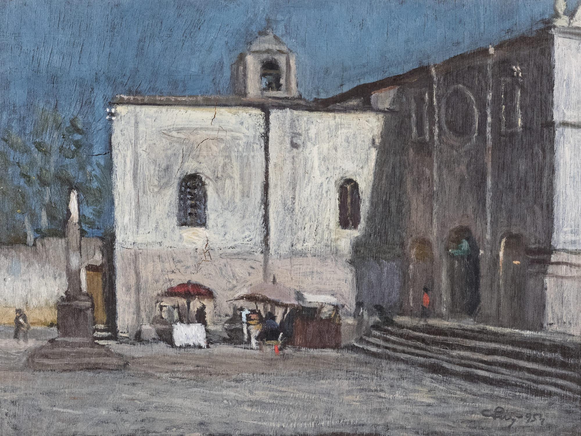 Chiesa di S. Pietro a Sassari, 1954