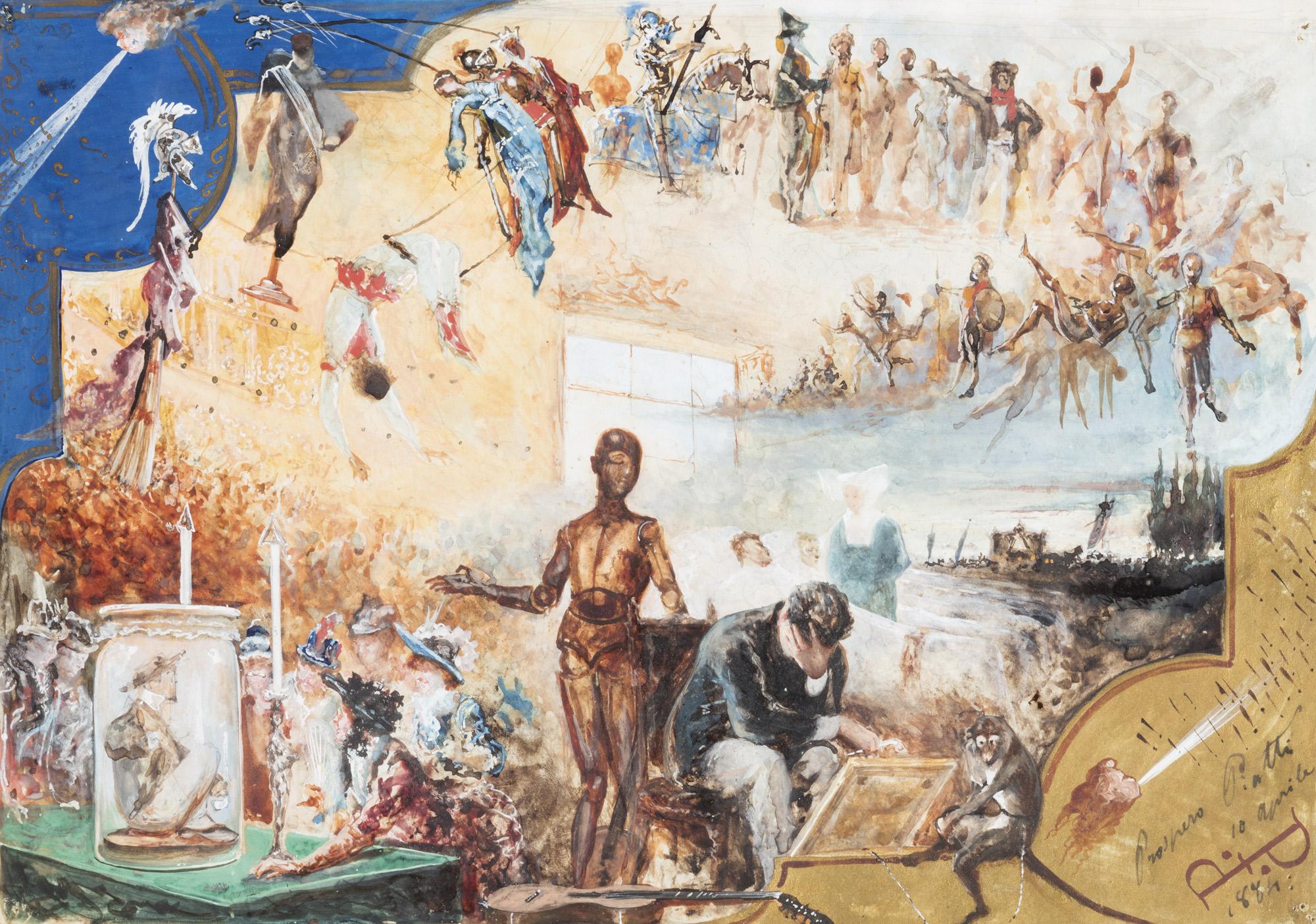 Composizione, 1884