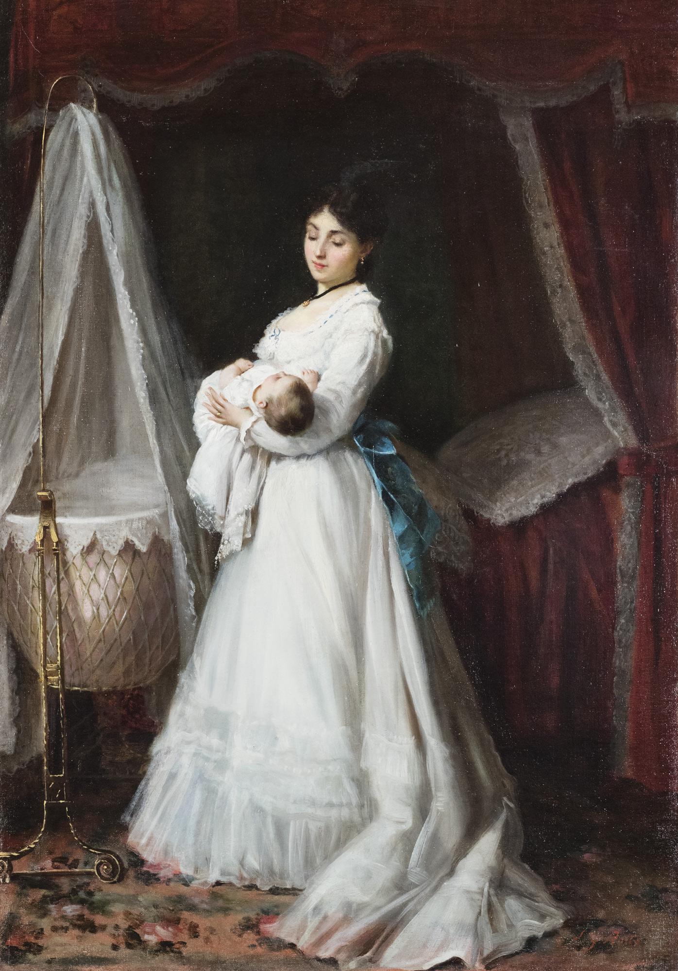 La giovane madre
