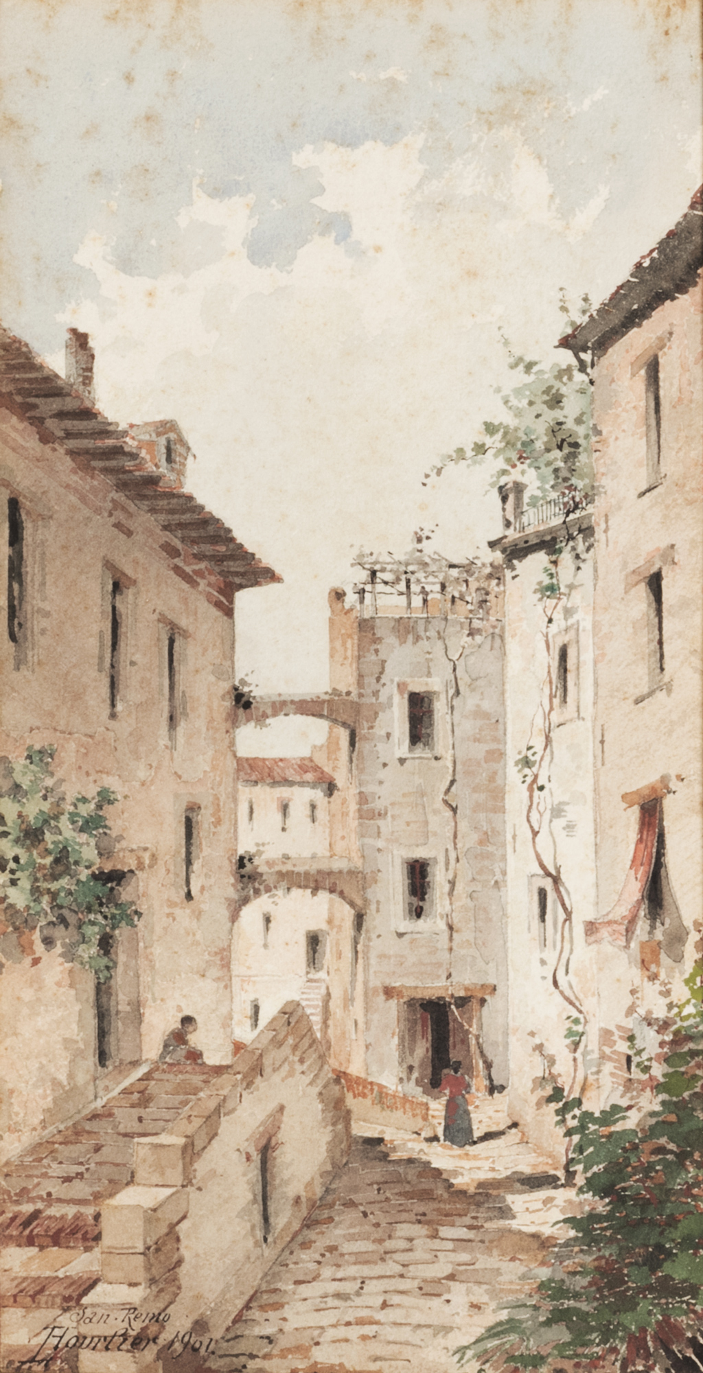 Veduta di San Remo, 1901