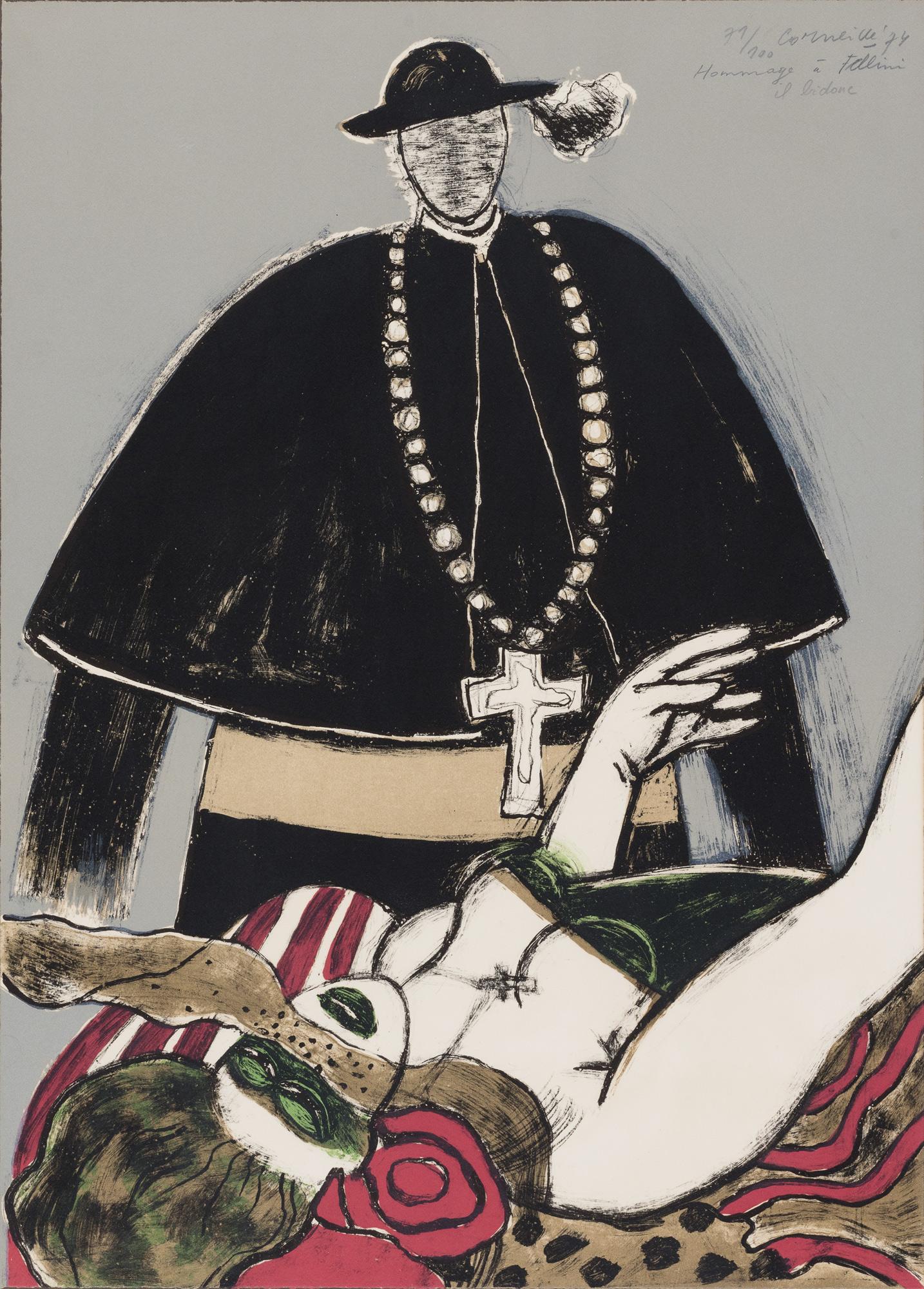 Hommage à Fellini – Il bidone, 1974