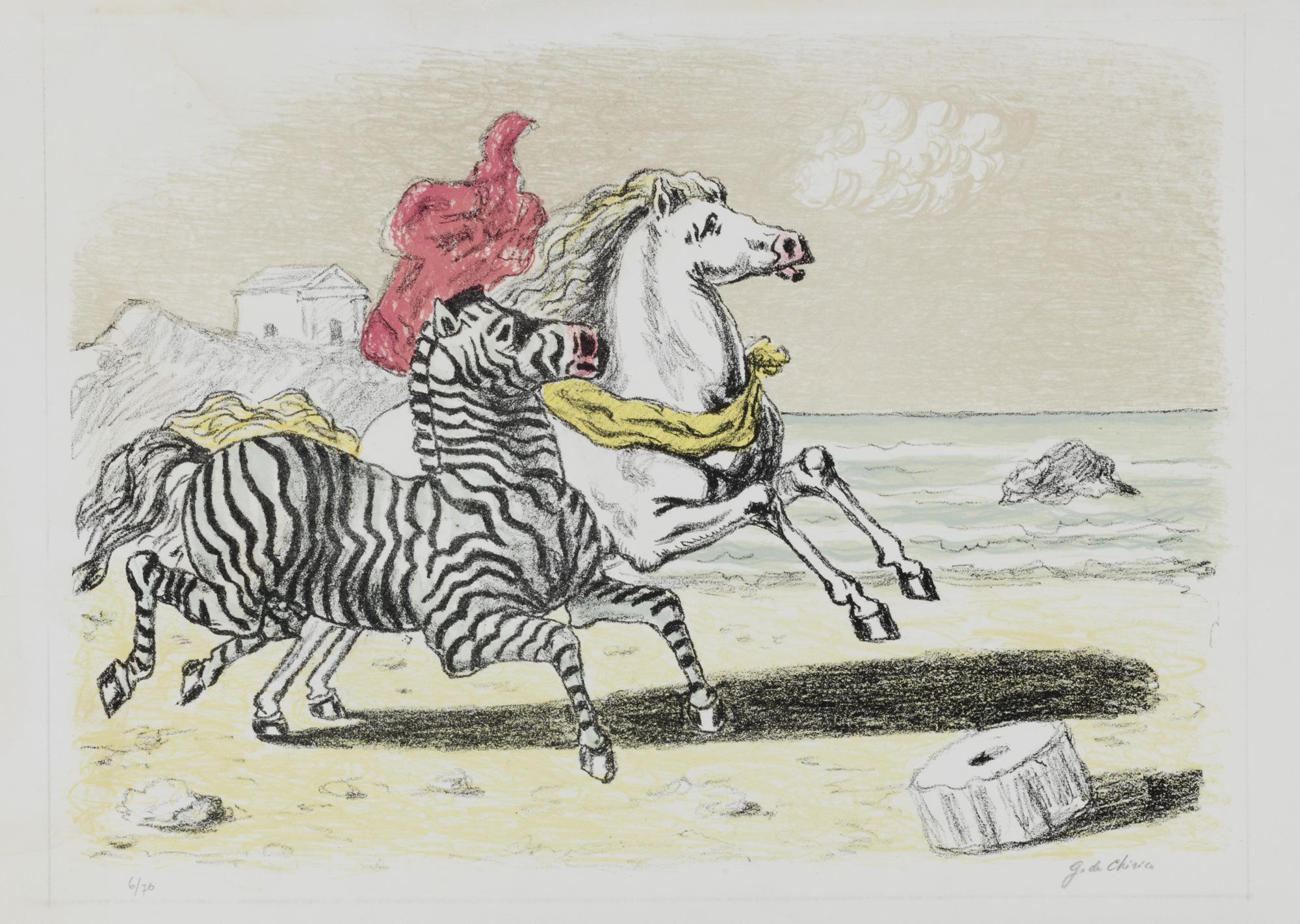 Zebra e cavallo, 1969