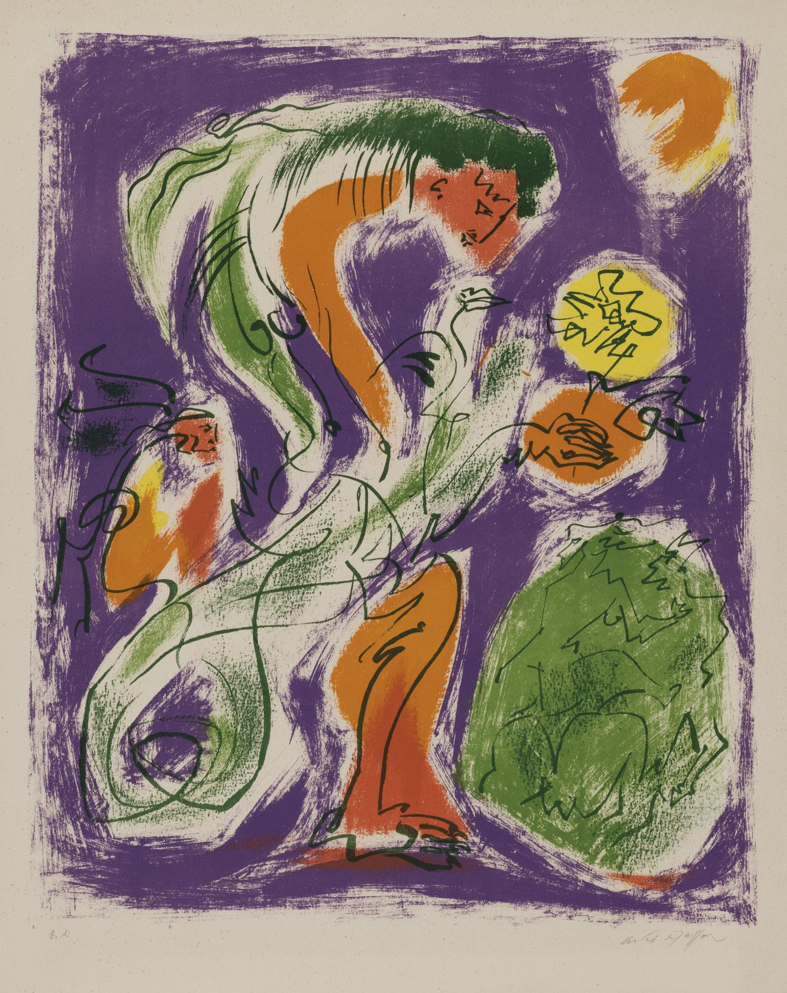 La jeune chimère, 1955