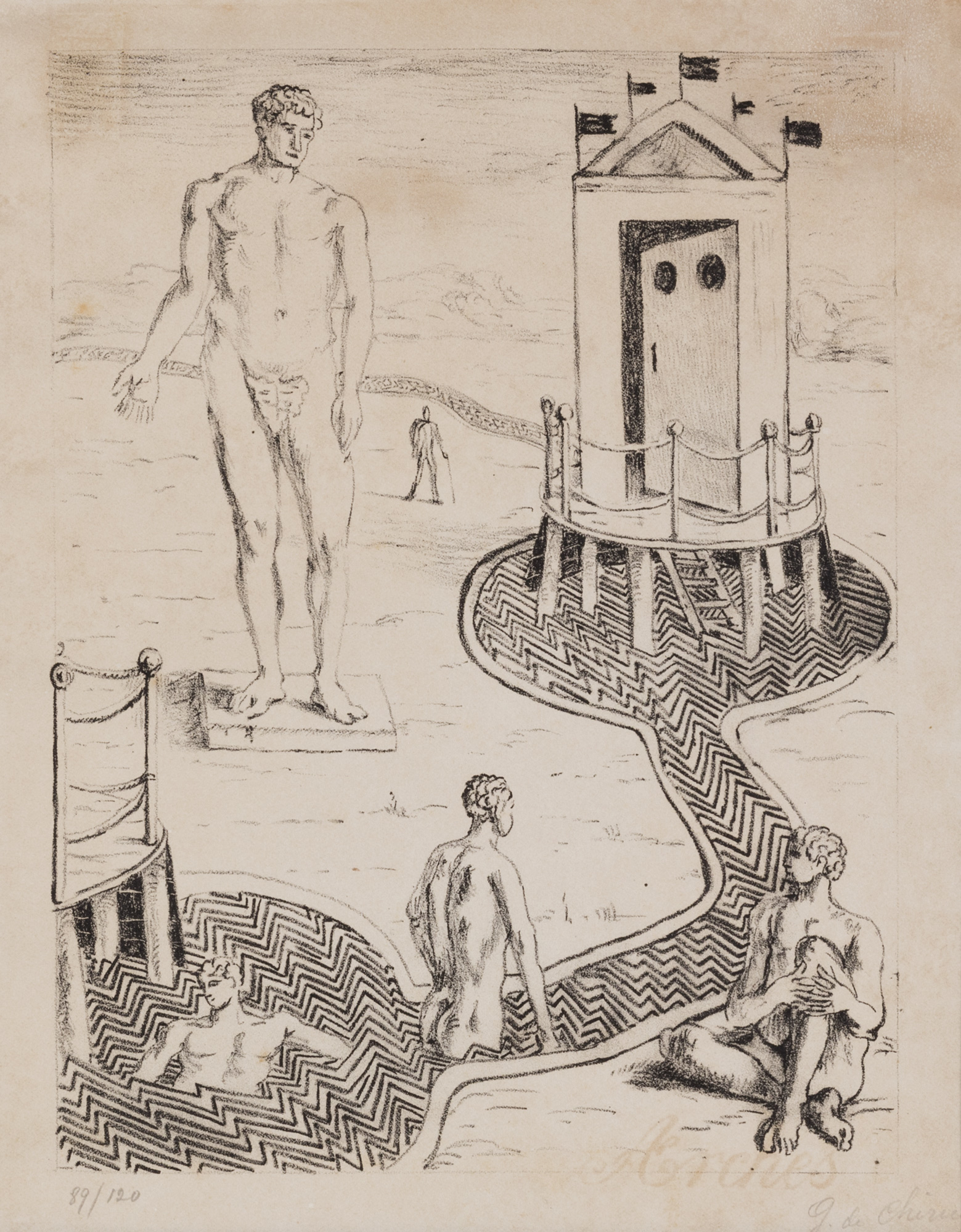 L'Idolo nei bagni misteriosi, 1934