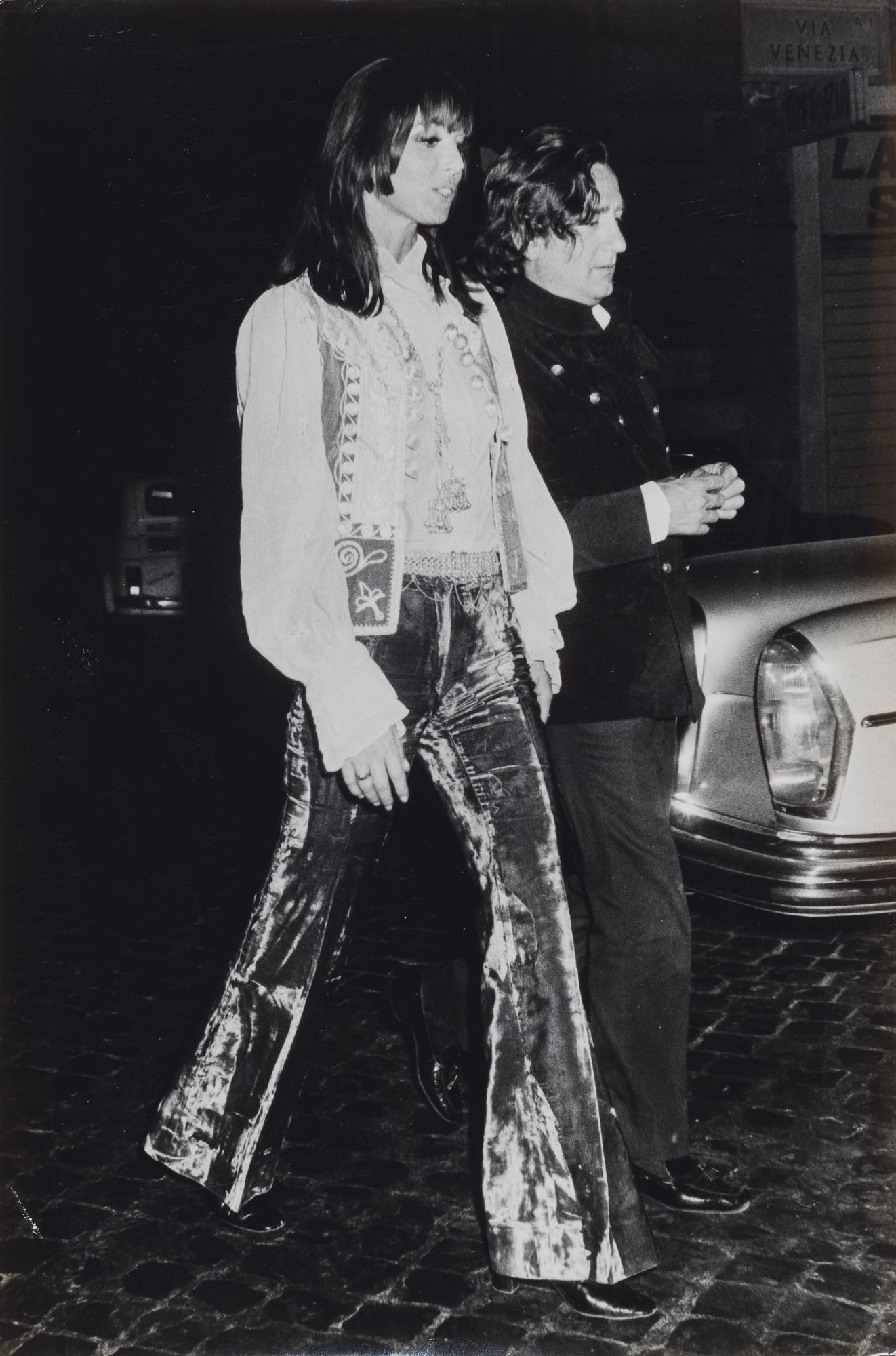 Willy Rizzo e Elsa Martinelli, ca. 1970