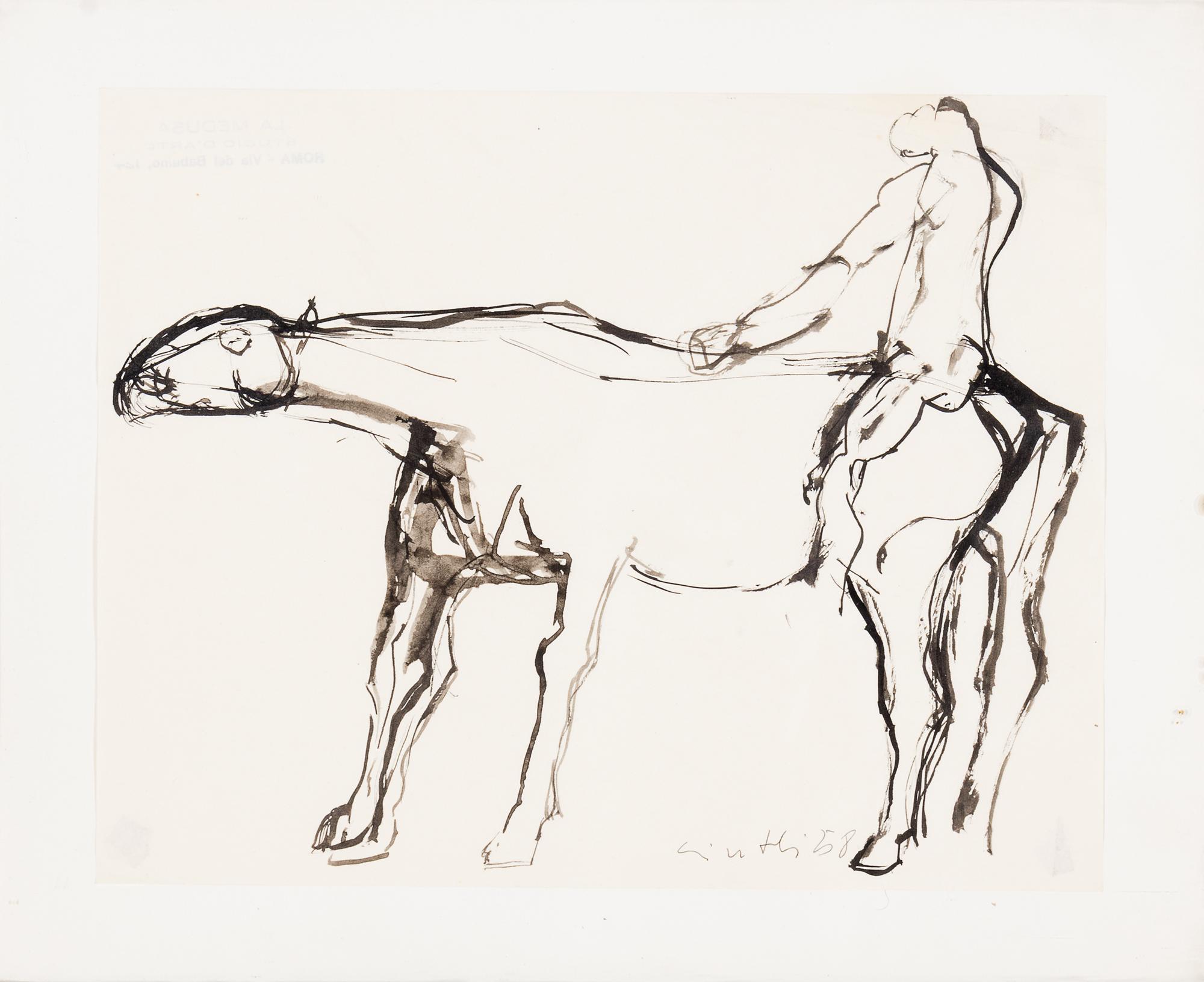 Cavallo e cavaliere, 1958