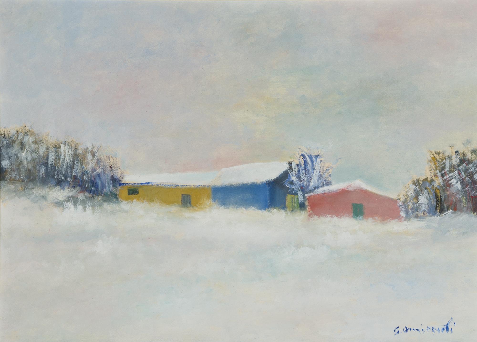 Il capanno nella neve