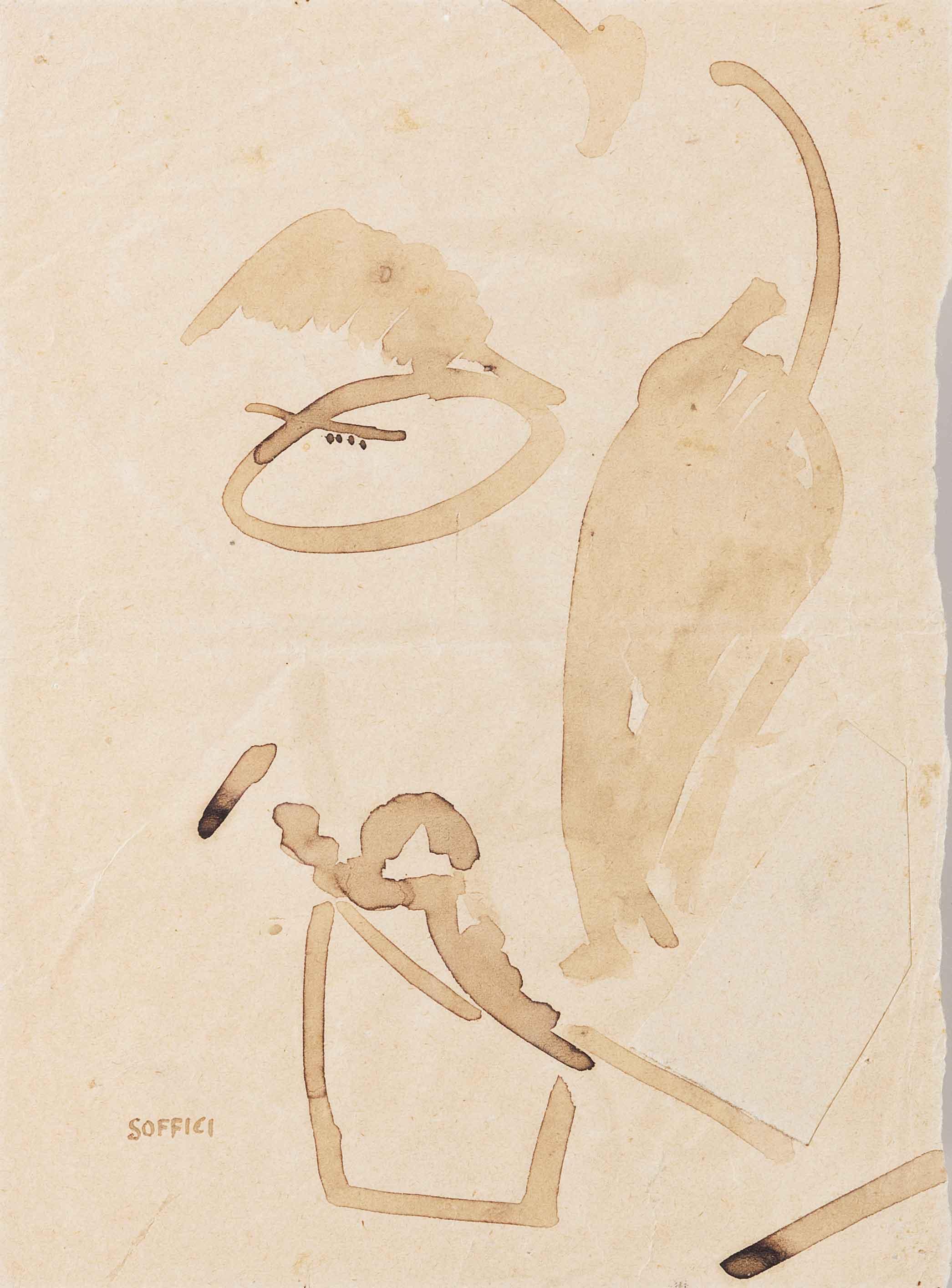 Caricatura di Decio Cinti, 1914