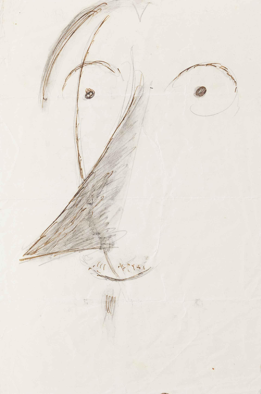 Caricatura di Luigi Russolo, 1914