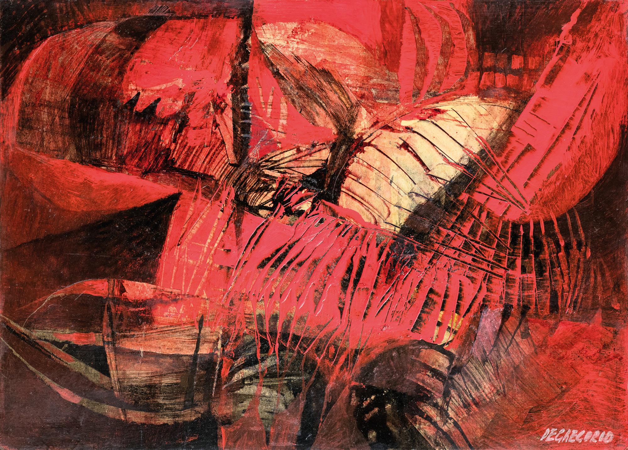 Scorpione rosso, 1962