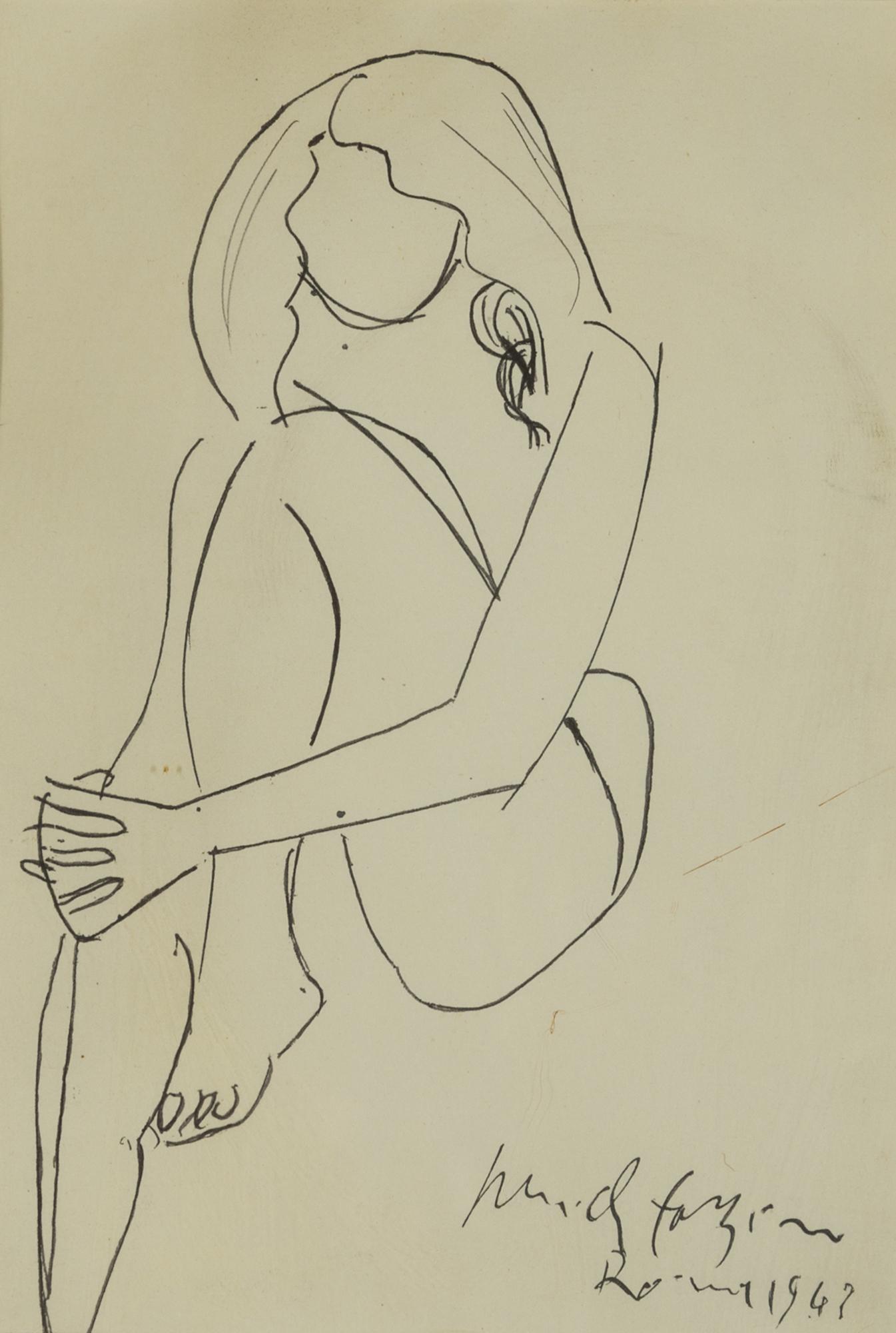 Nudo femminile, 1947