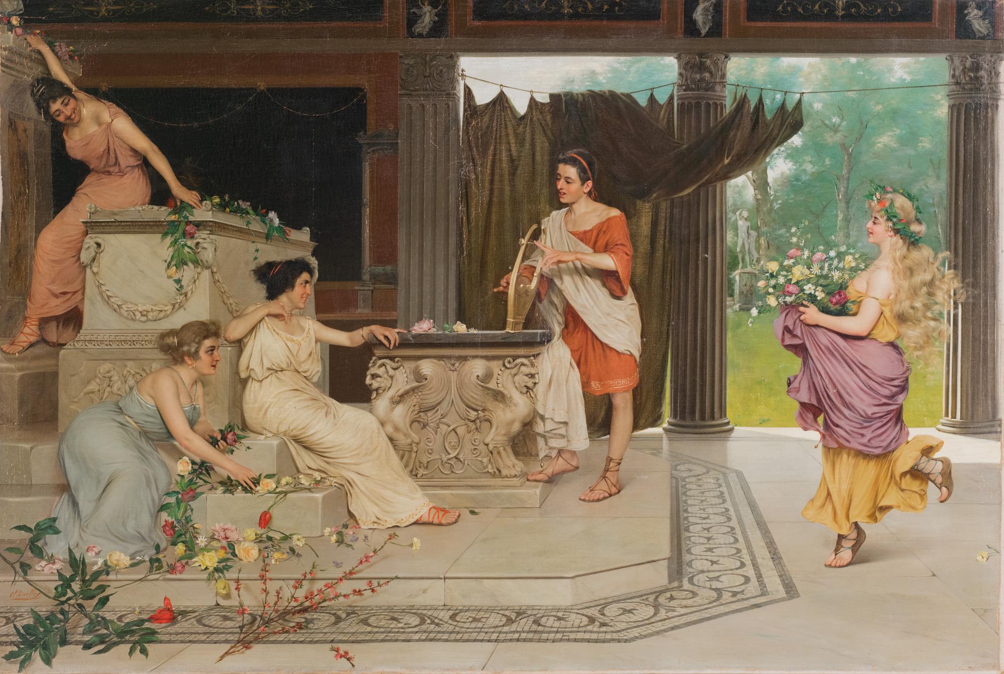 'Ornamenti al tempio'