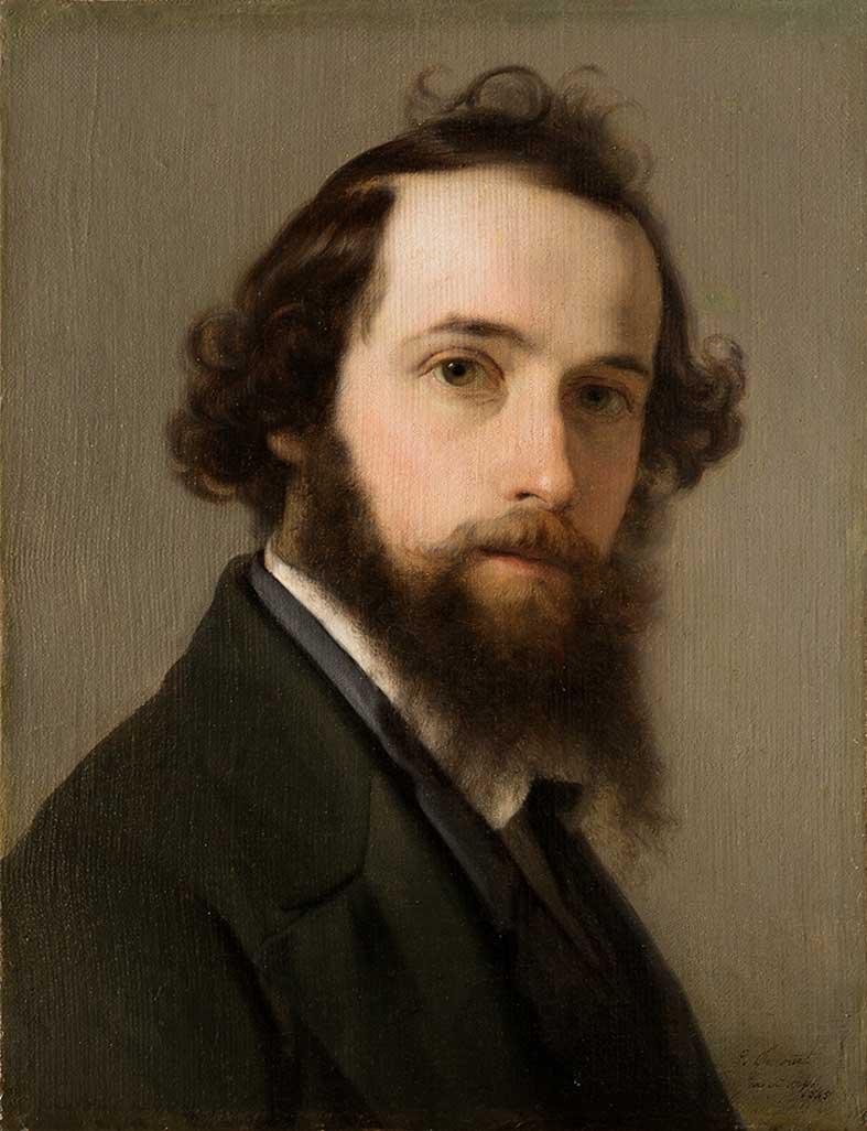 Autoritratto, 1845
