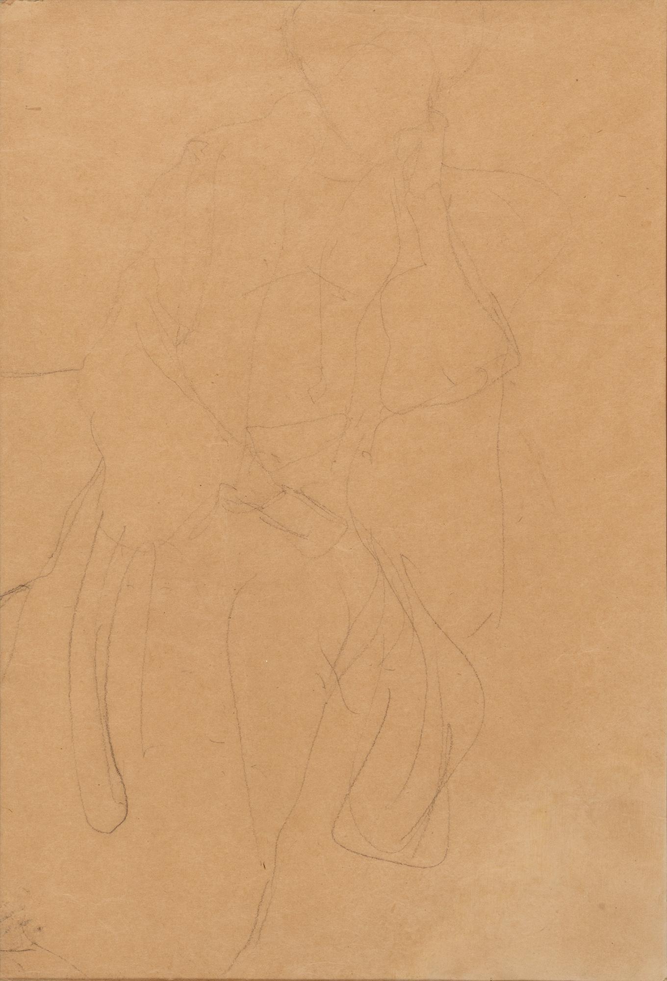 Donna seduta – studio per il dipinto Ritratto di Hermine Gallia, 1903/'04