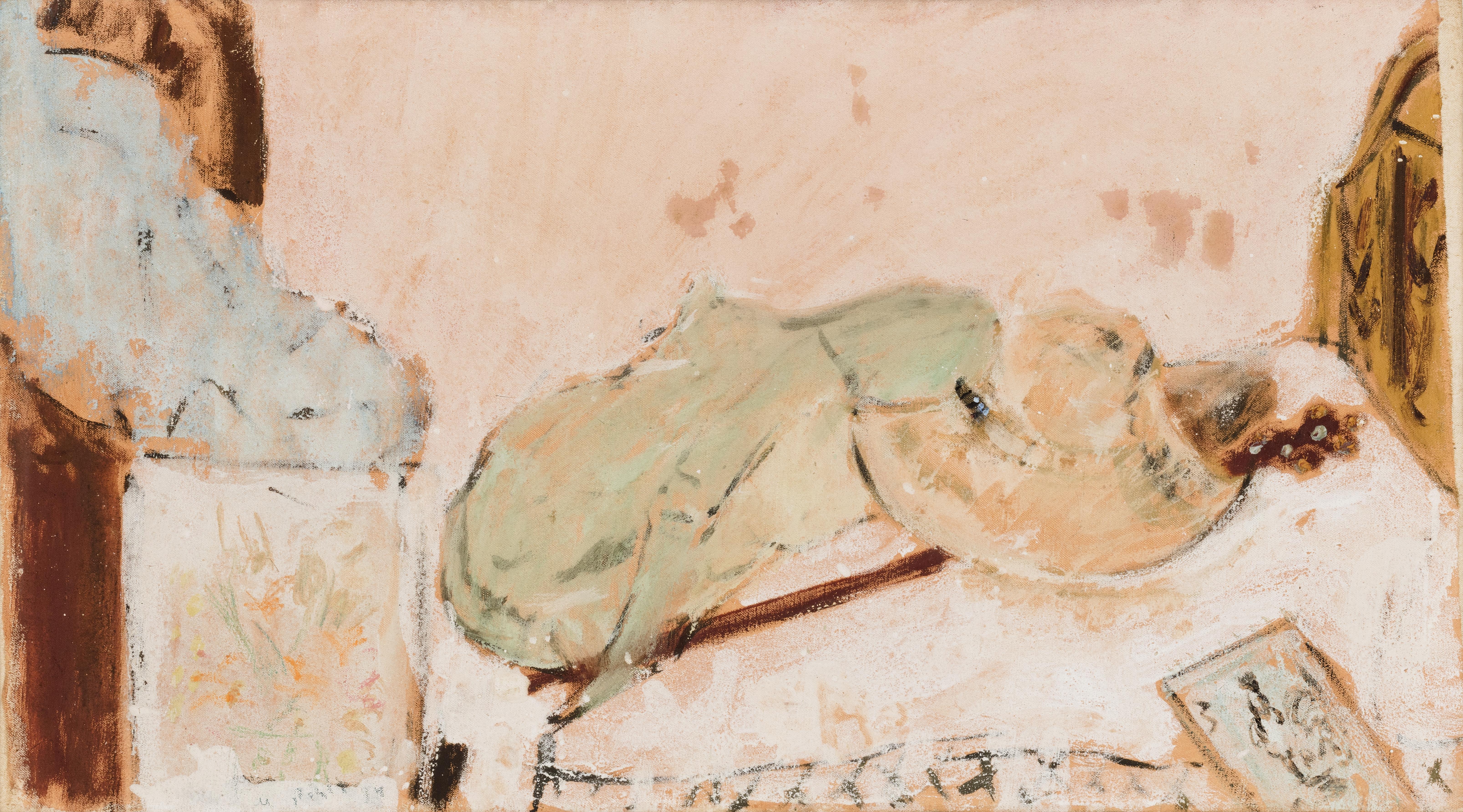 Natura morta con cappello di paglia, 1934