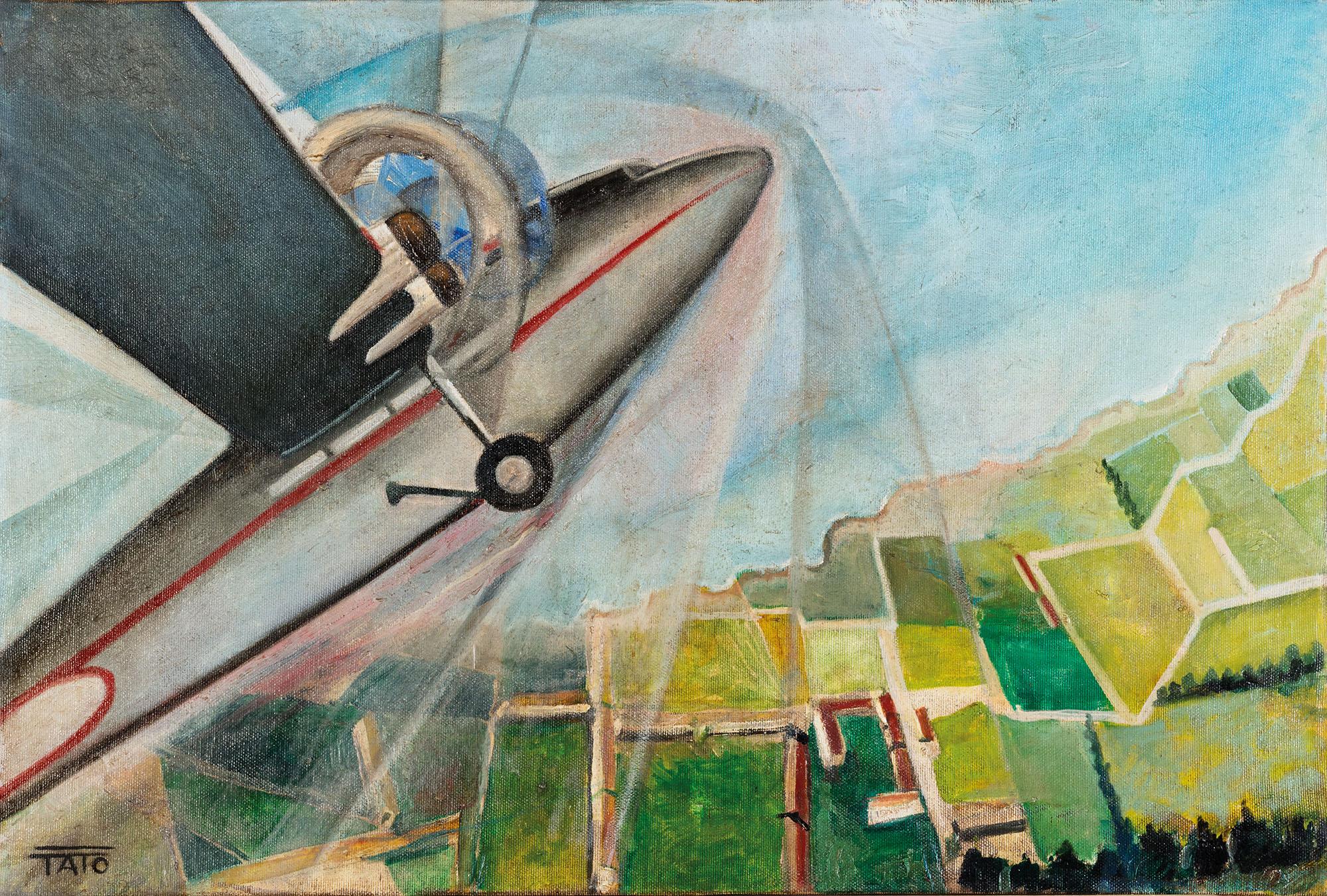 Il decollo, 1938