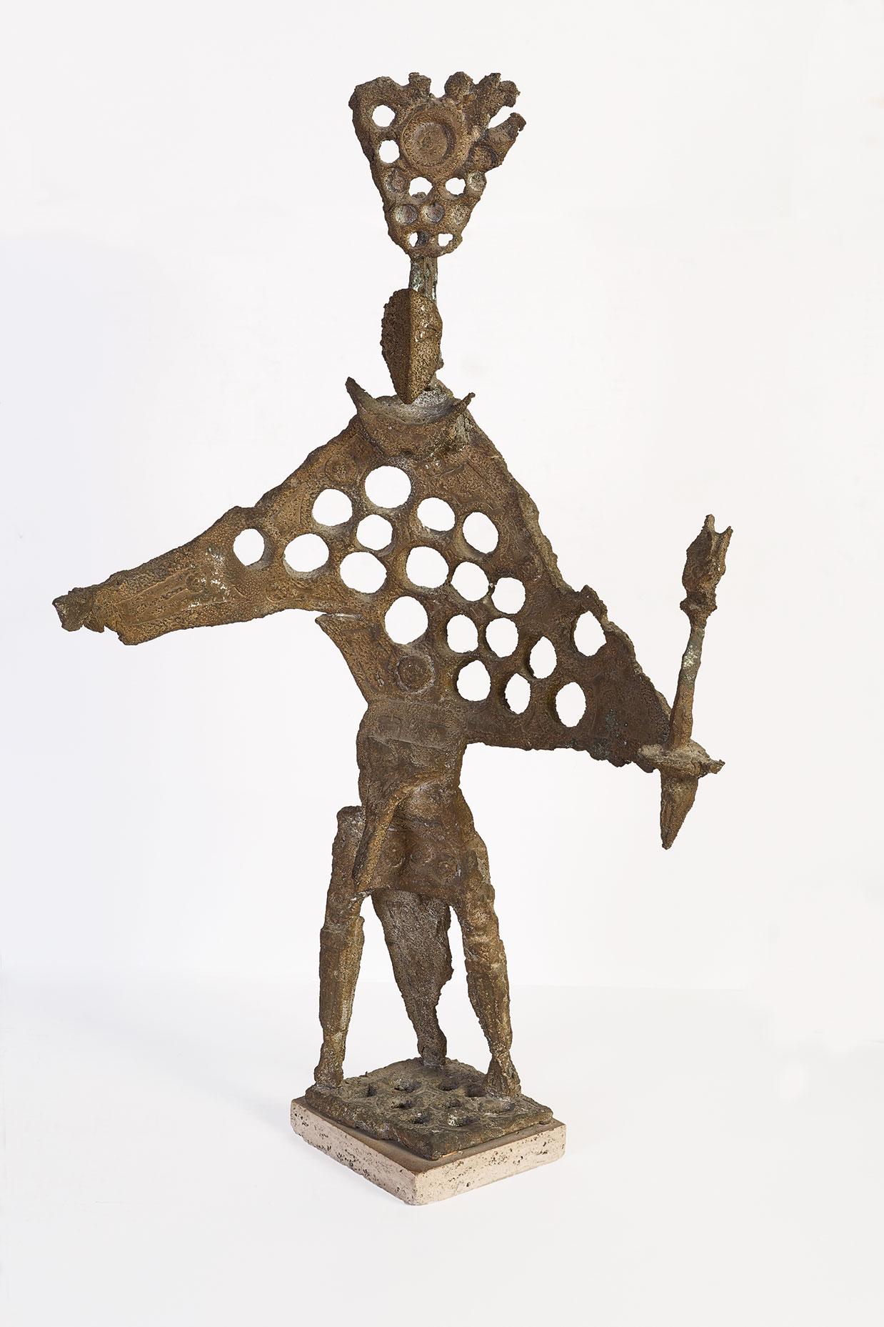 Uomo con fiaccola, 1964
