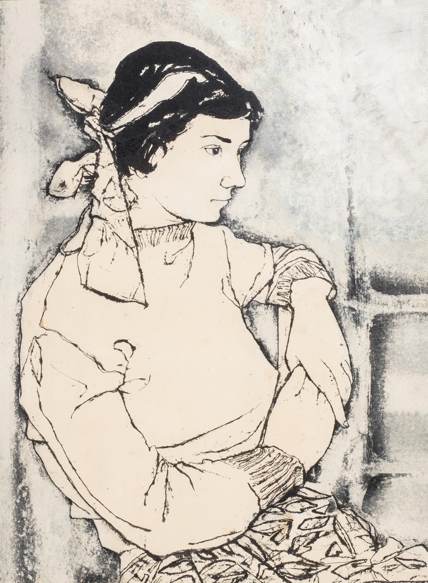 Ritratto di Graziella Urbinati, 1948