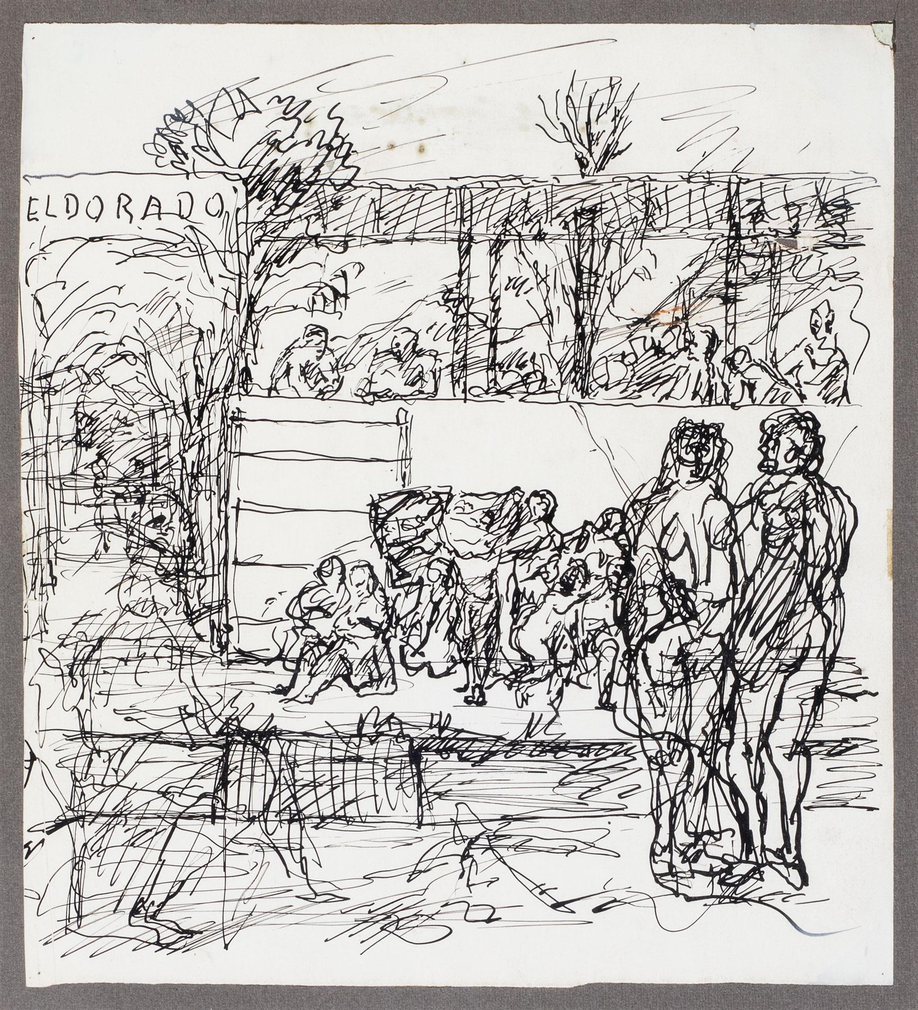 I bagni Eldorado, 1940