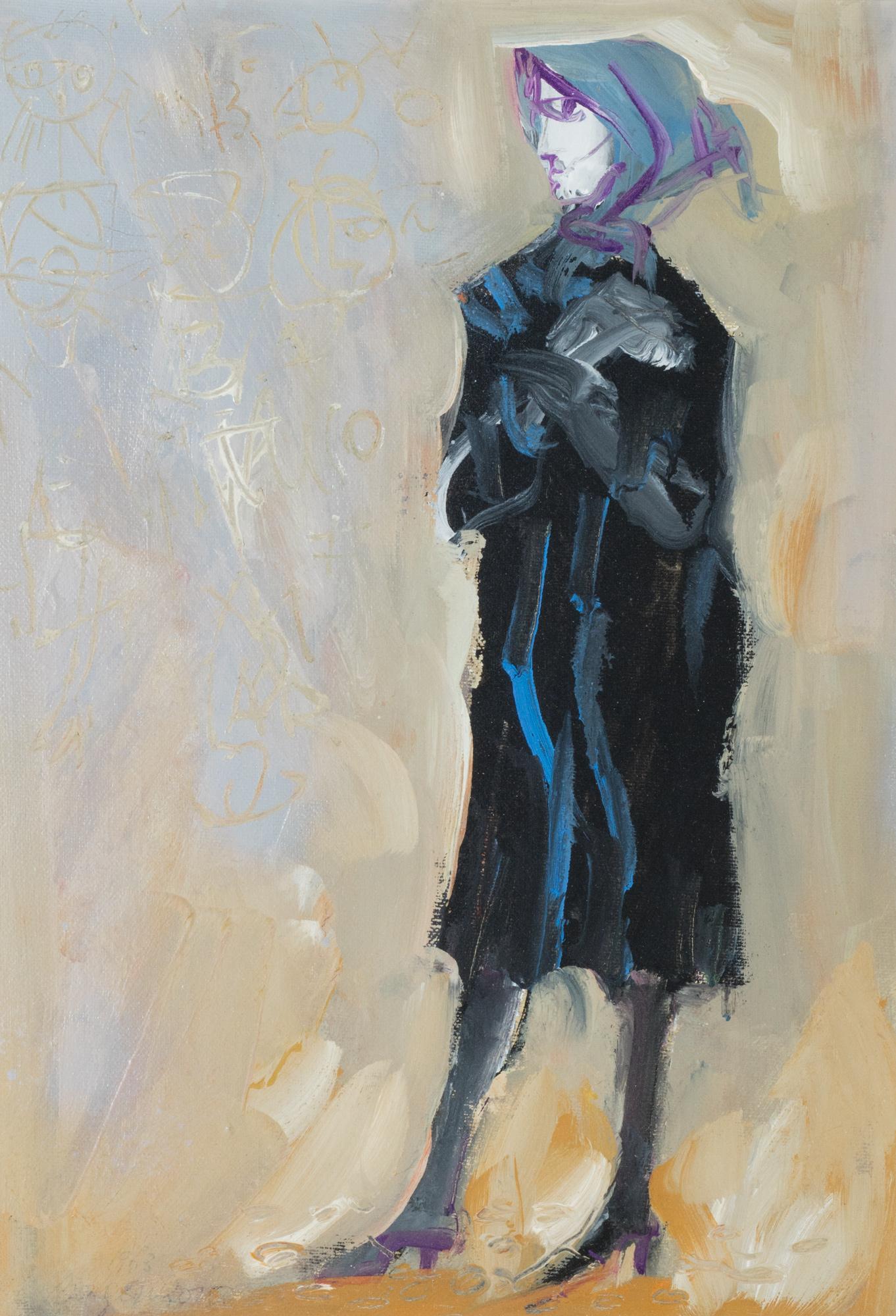 Figura in nero, 1962