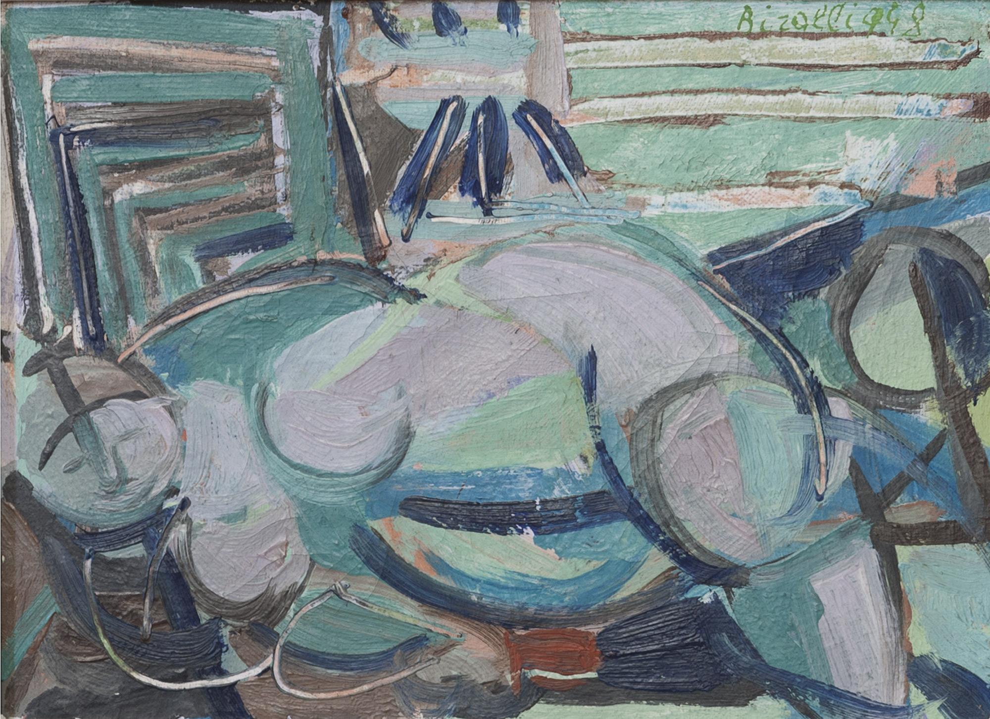 Figura accovacciata, 1948