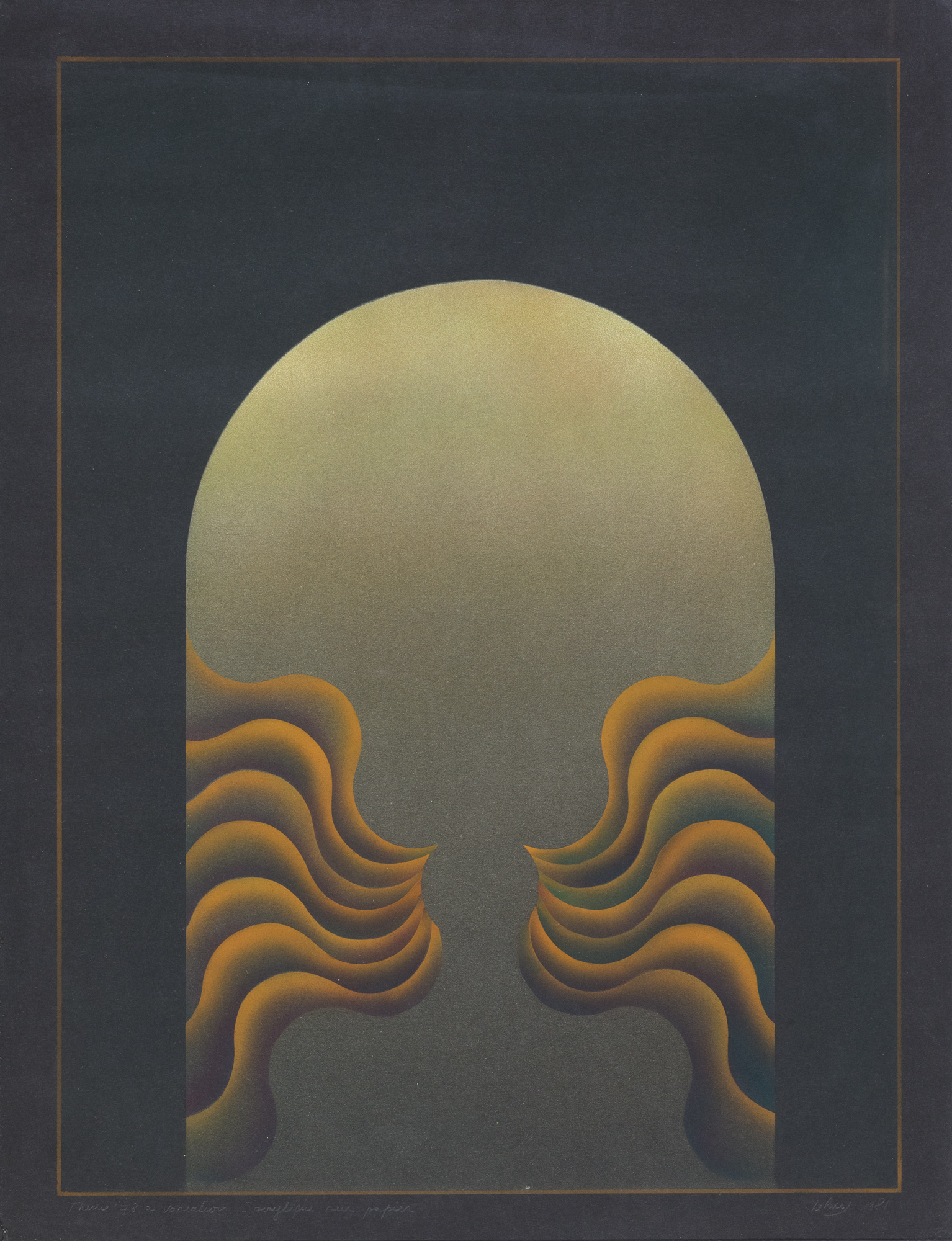 Theme 78 a variation, 1981