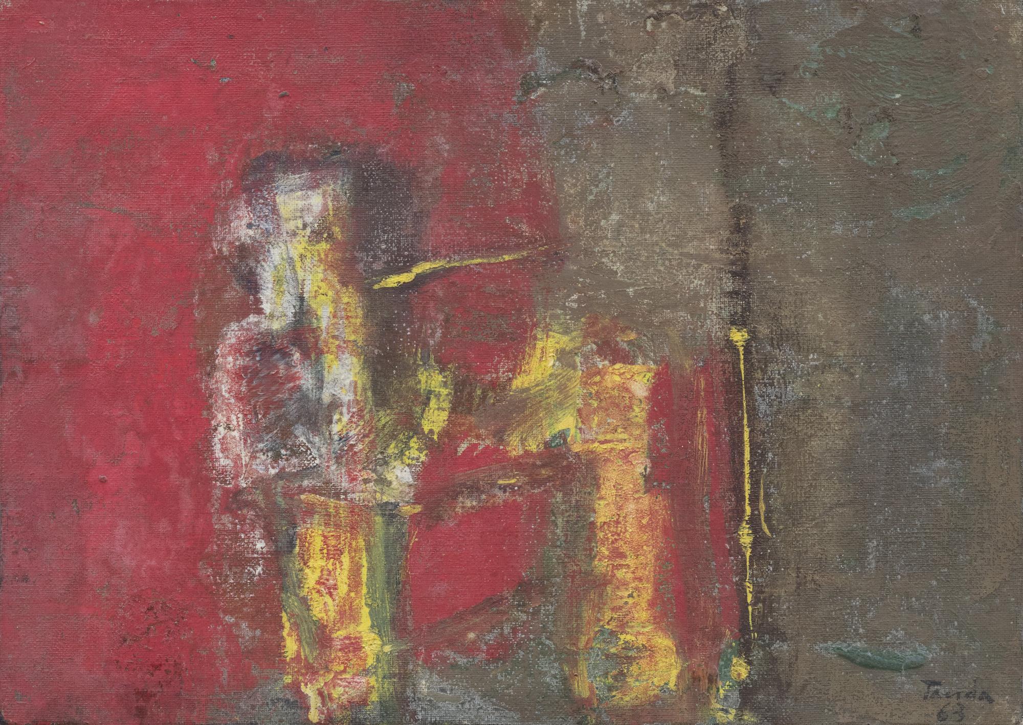 Composizione rosso – giallo, 1963