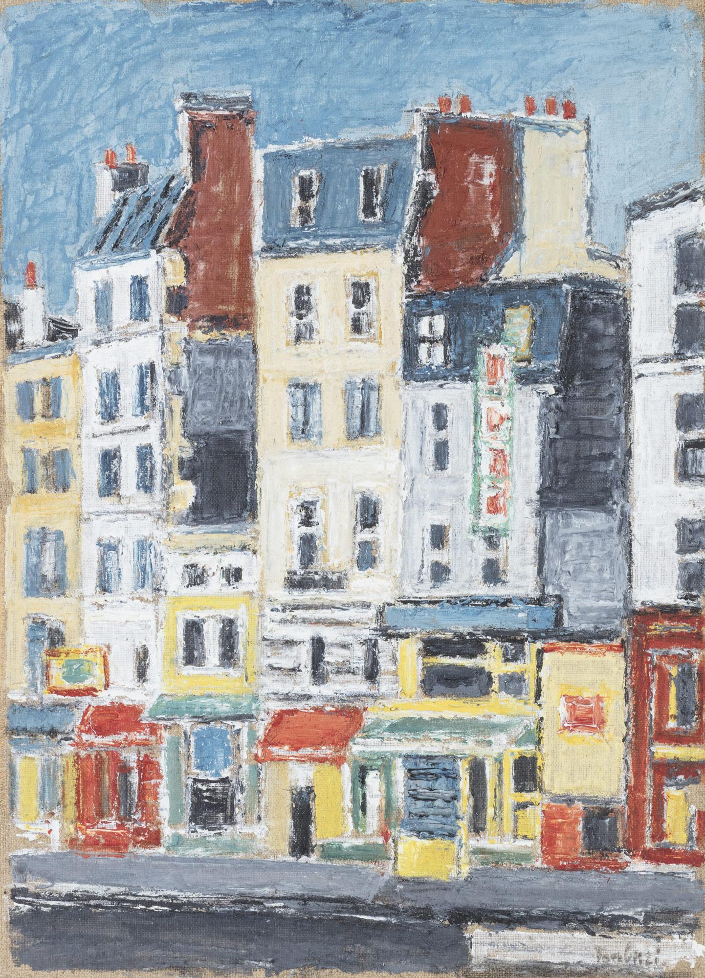 Case al Boulevard Clichy, 1969