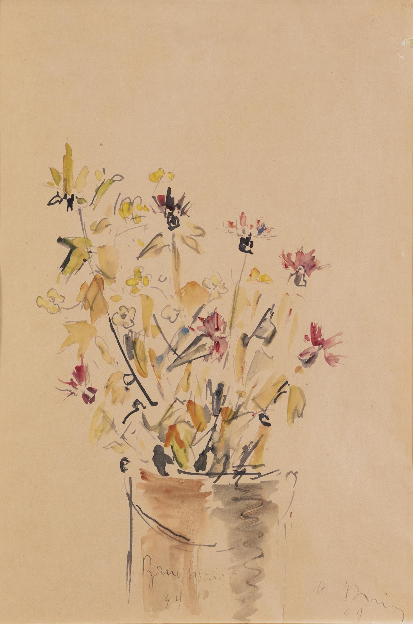 Vaso di fiori, 1949