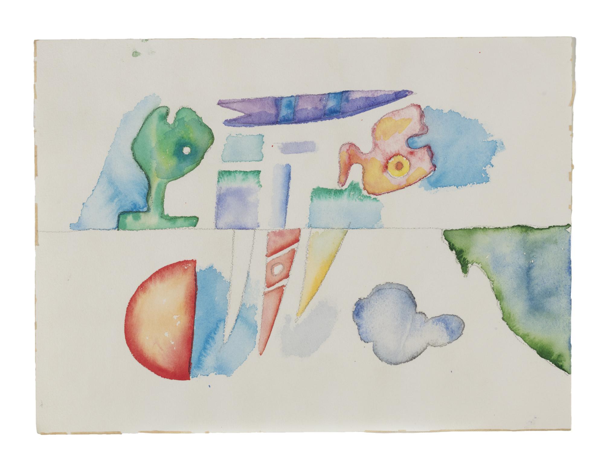 Tre disegni, Anni '70