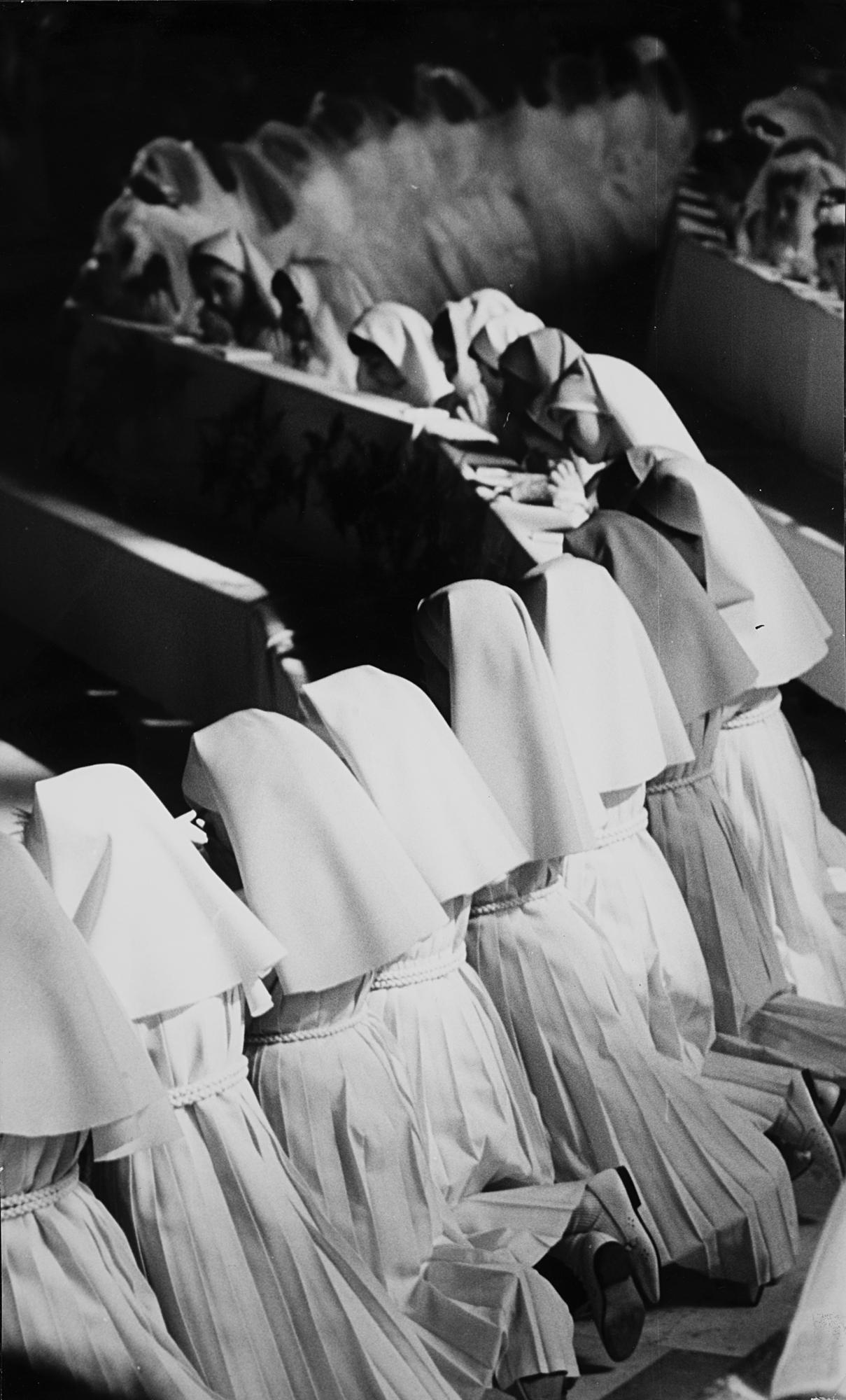 Prima comunione, anni 1960