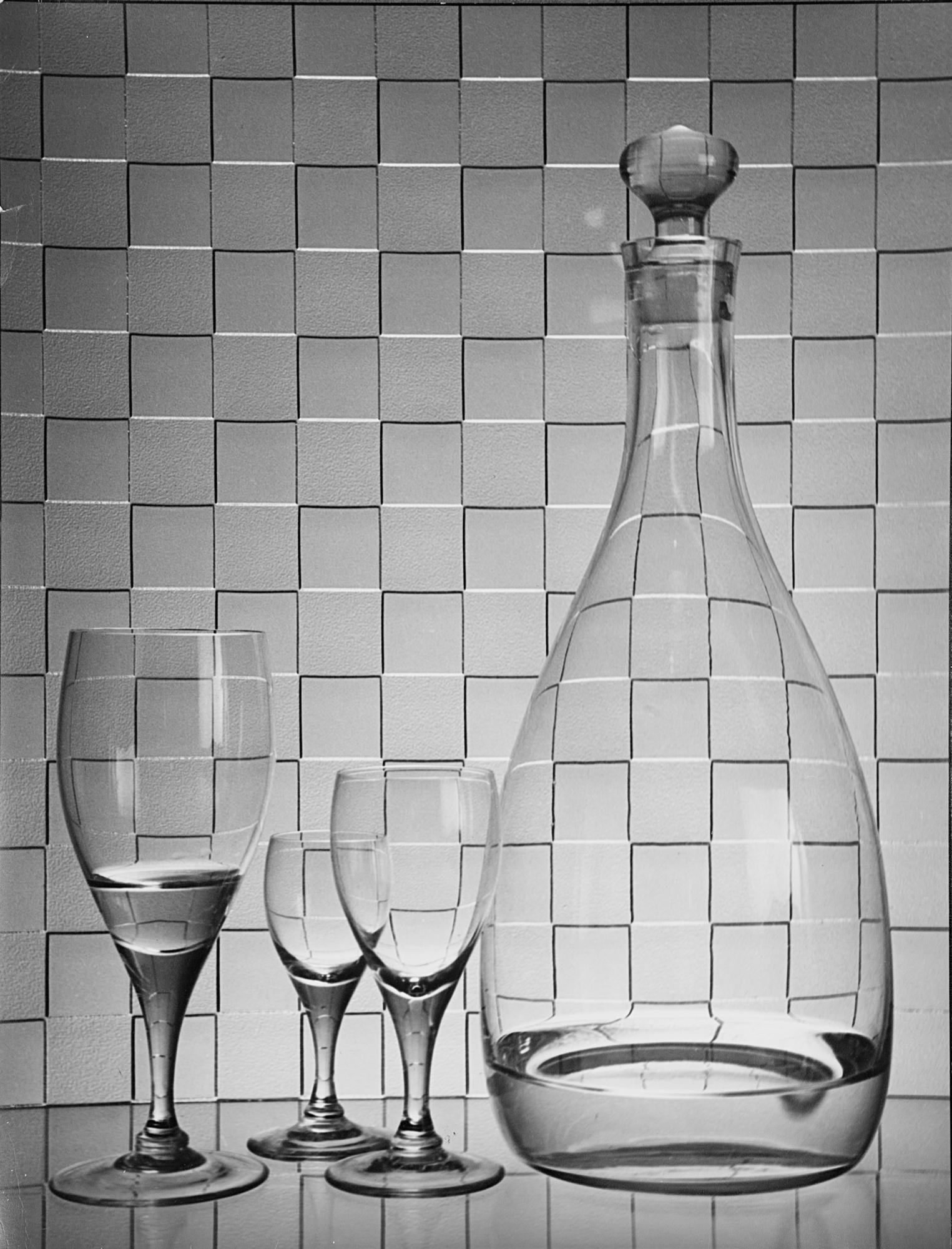 Three glasses, anni 1980