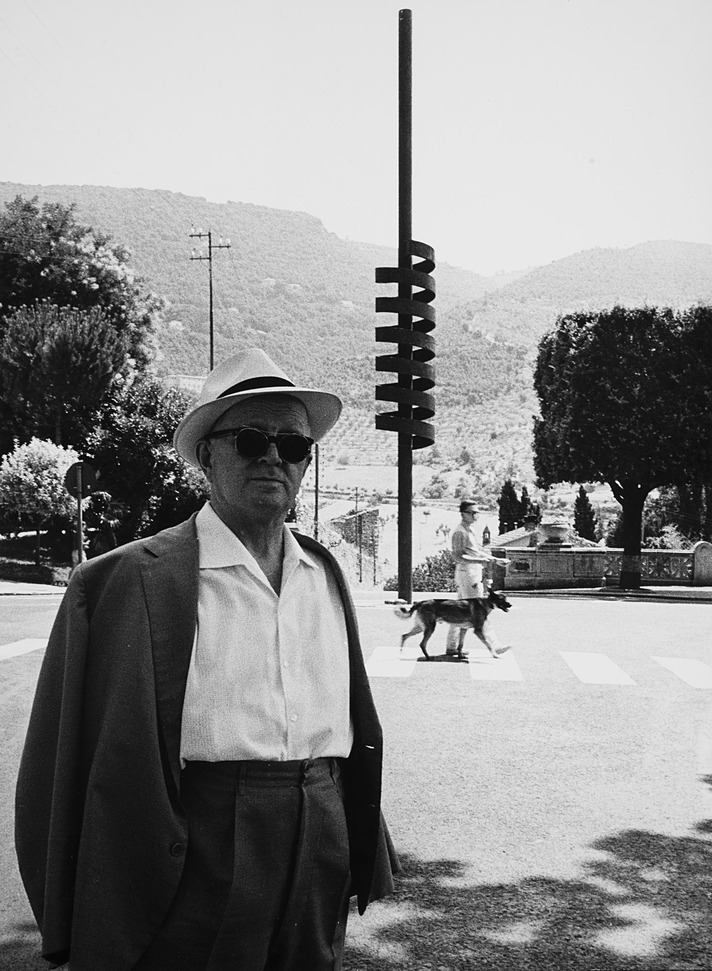 Ettore Colla 'La grande spirale', Spoleto, 1962