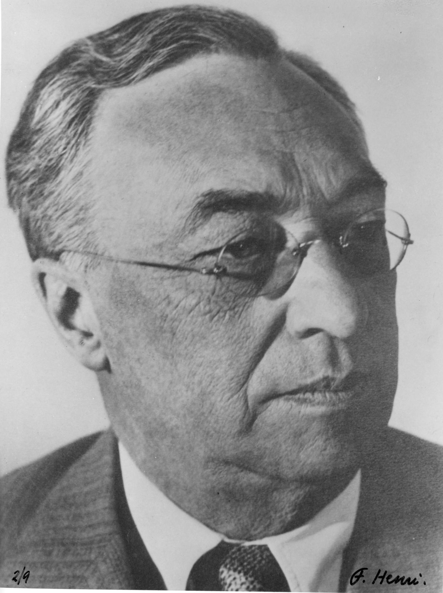 Portrait de W. Kandinsky, 1934