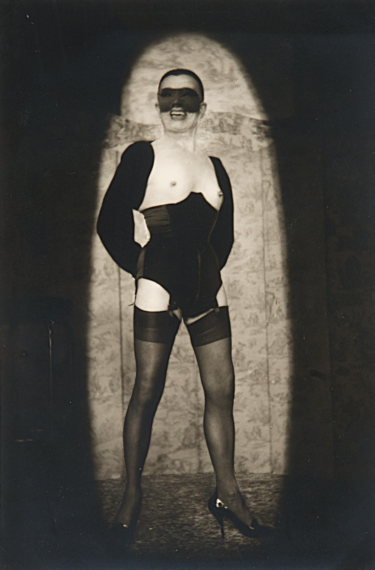 Senza titolo (Autoritratto mascherato), anni 1970