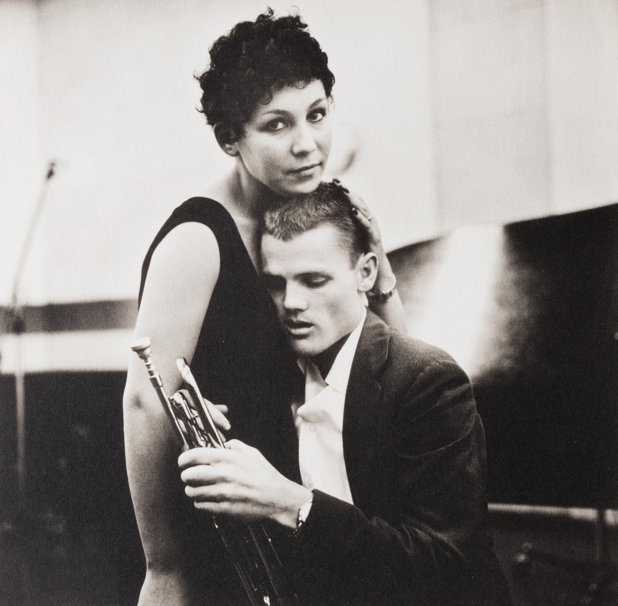 Chet Baker and Lili, Hollywood, 1955