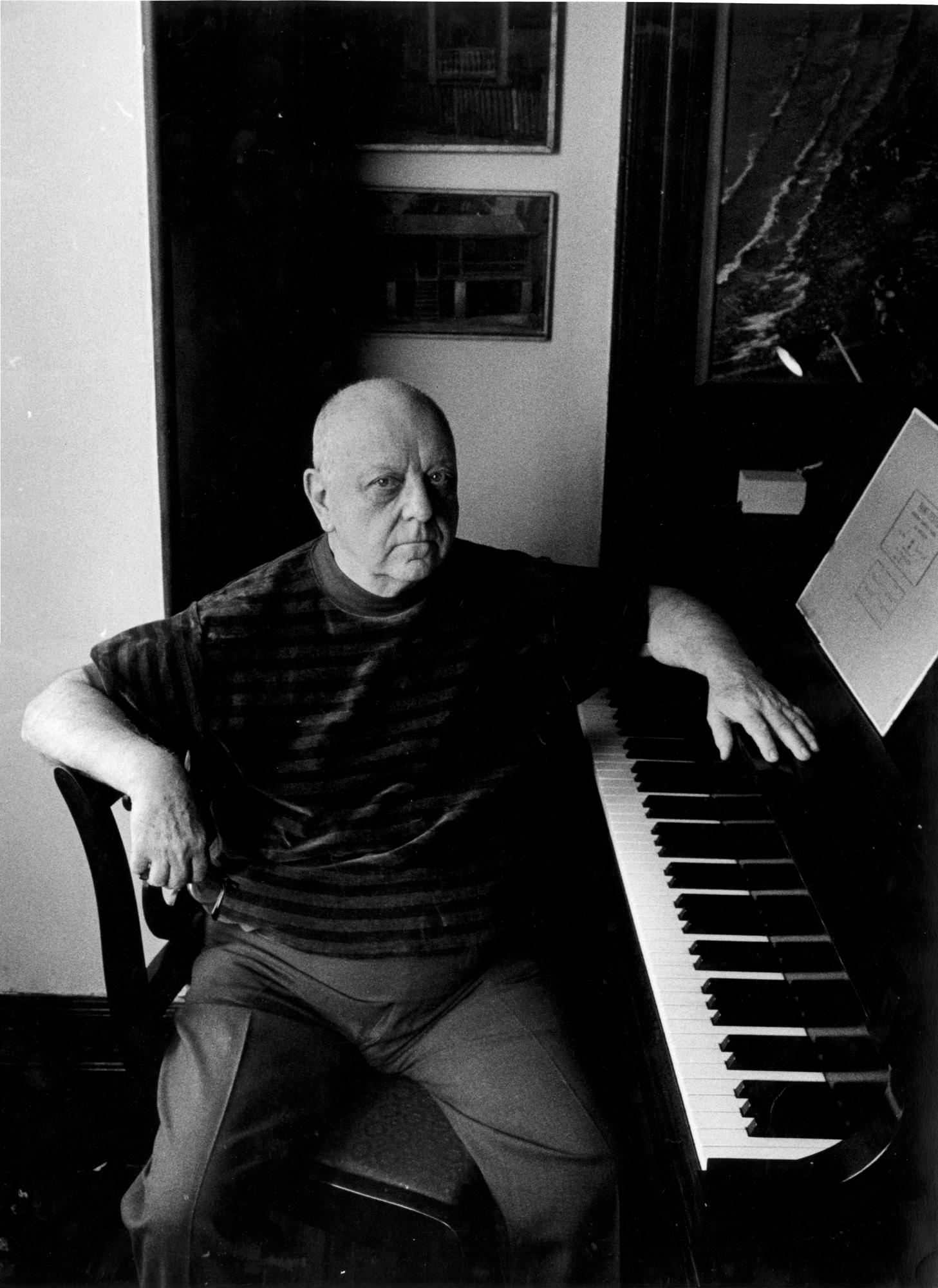 Virgil Thompson, New York, 1966