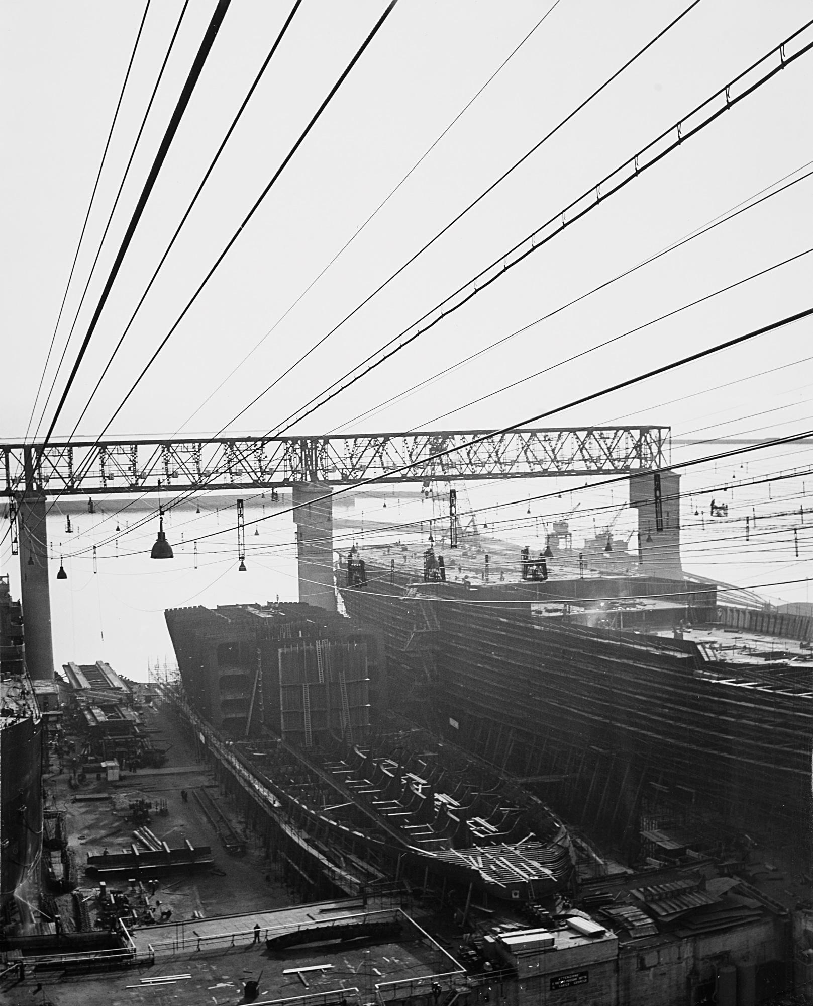 Cantieri navali, Genova, anni 1950