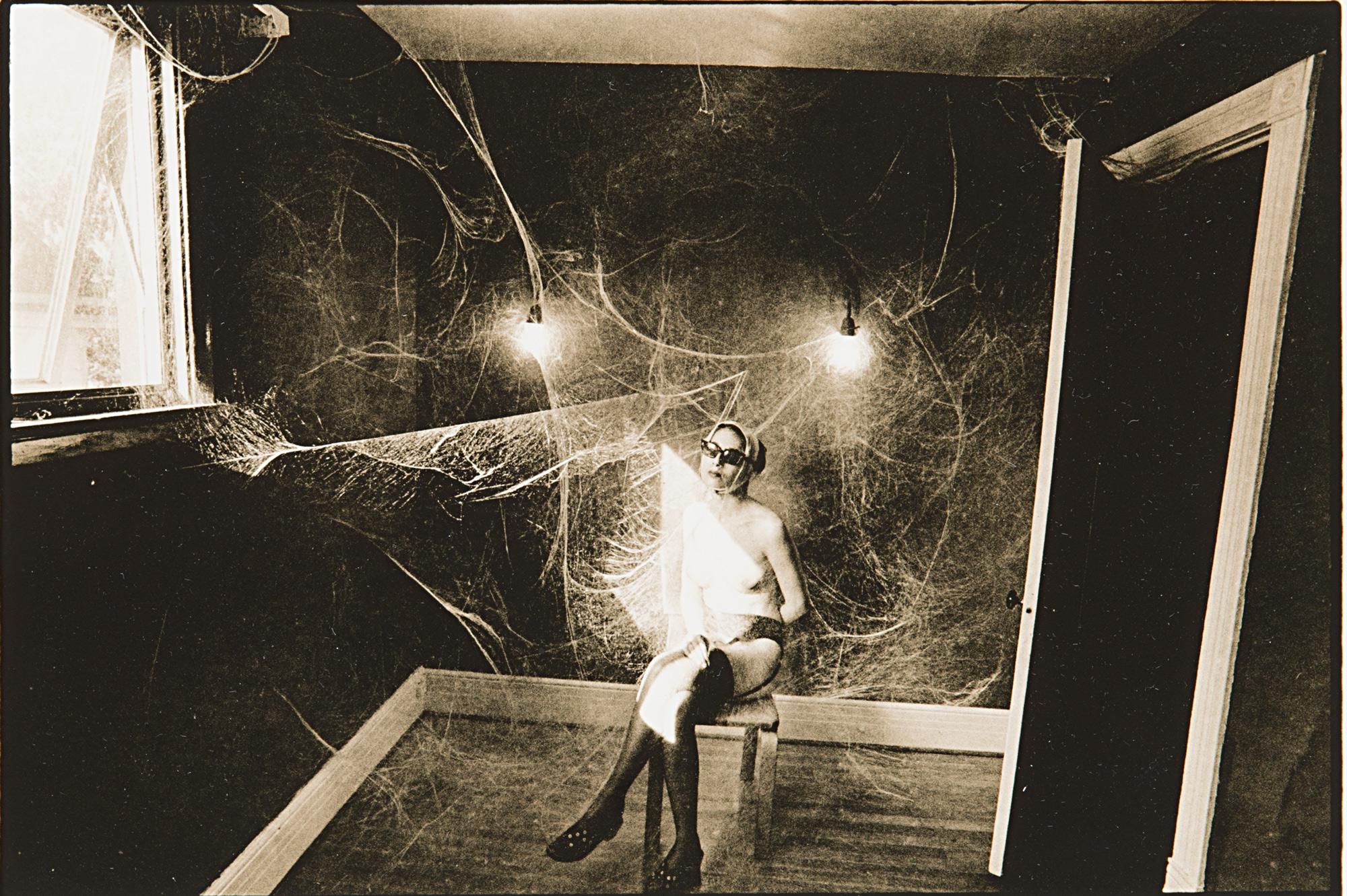 Cobweb, Nude, 1969