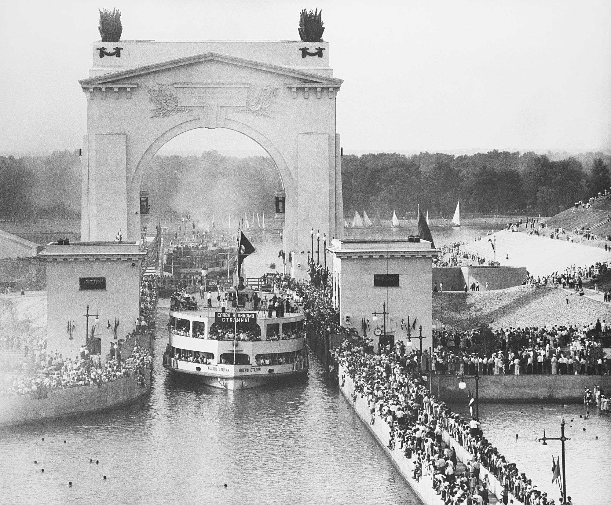 Festa per l'apertura del canale Volga – Don, 1951